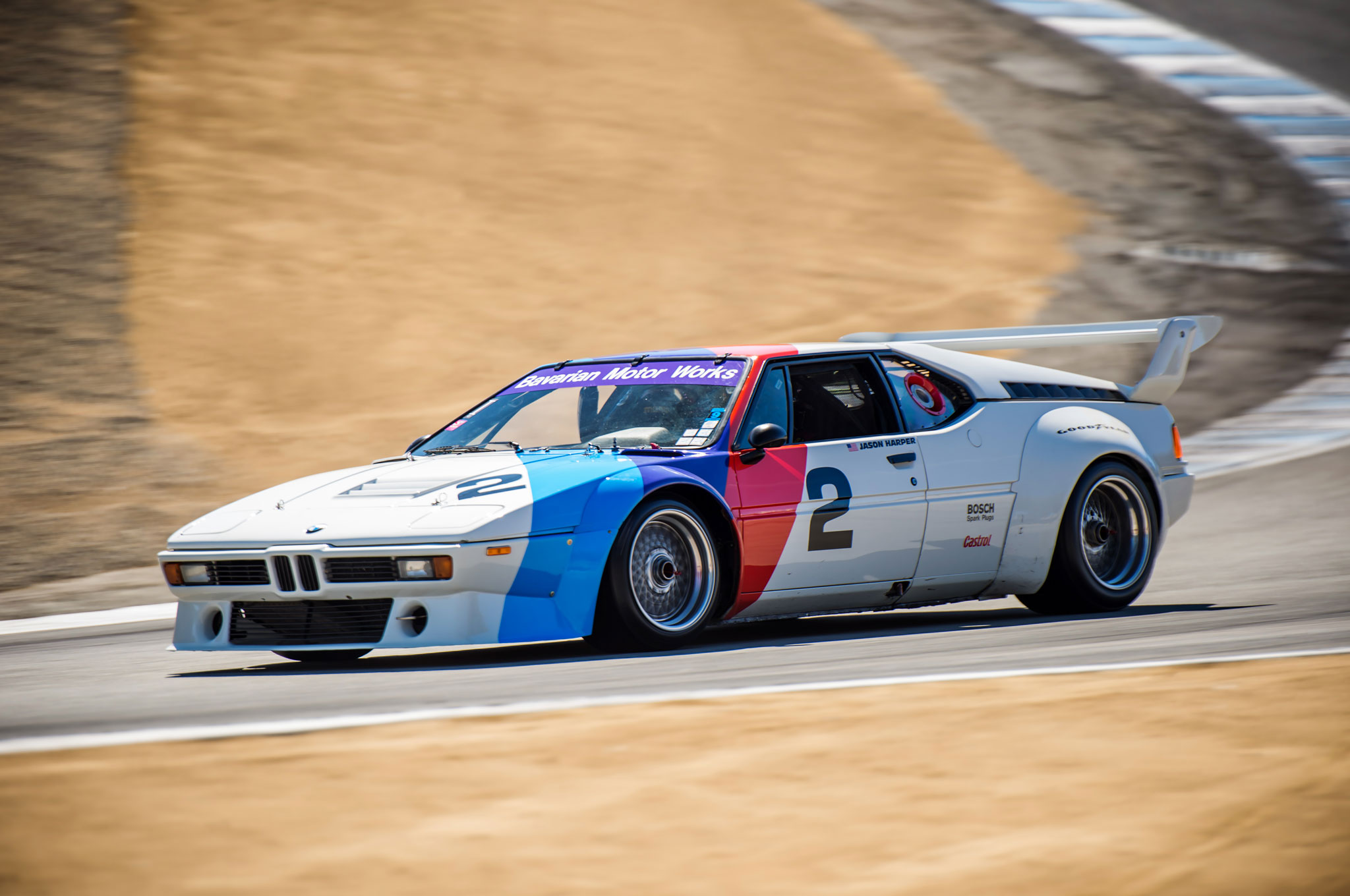 the one racing the mid engine bmw m1 supercar at mazda raceway. Black Bedroom Furniture Sets. Home Design Ideas