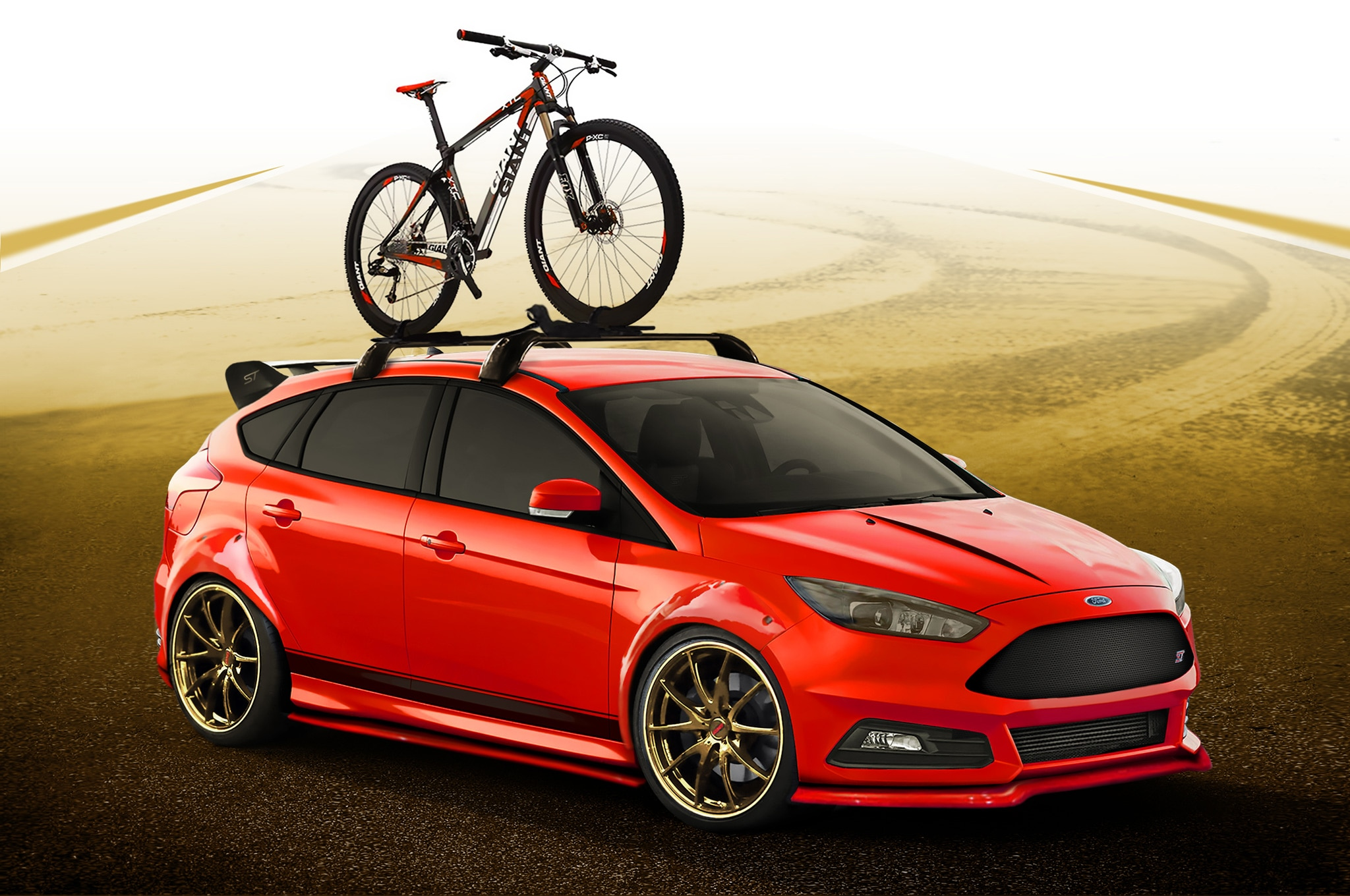 Modified Ford Focus ST and Fiesta ST Hot Hatches Head to SEMA