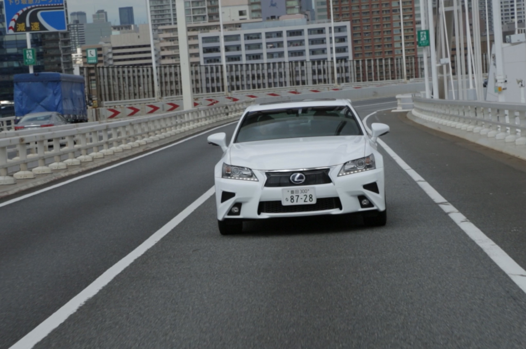 Lexus GS Highway Teammate Prototype Front