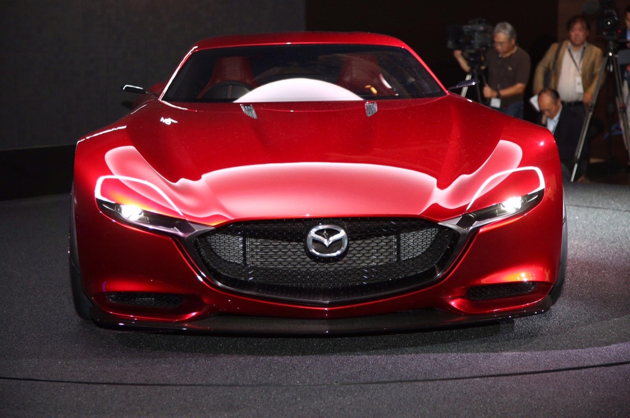 Mazda RX Vision Live Shots Front2