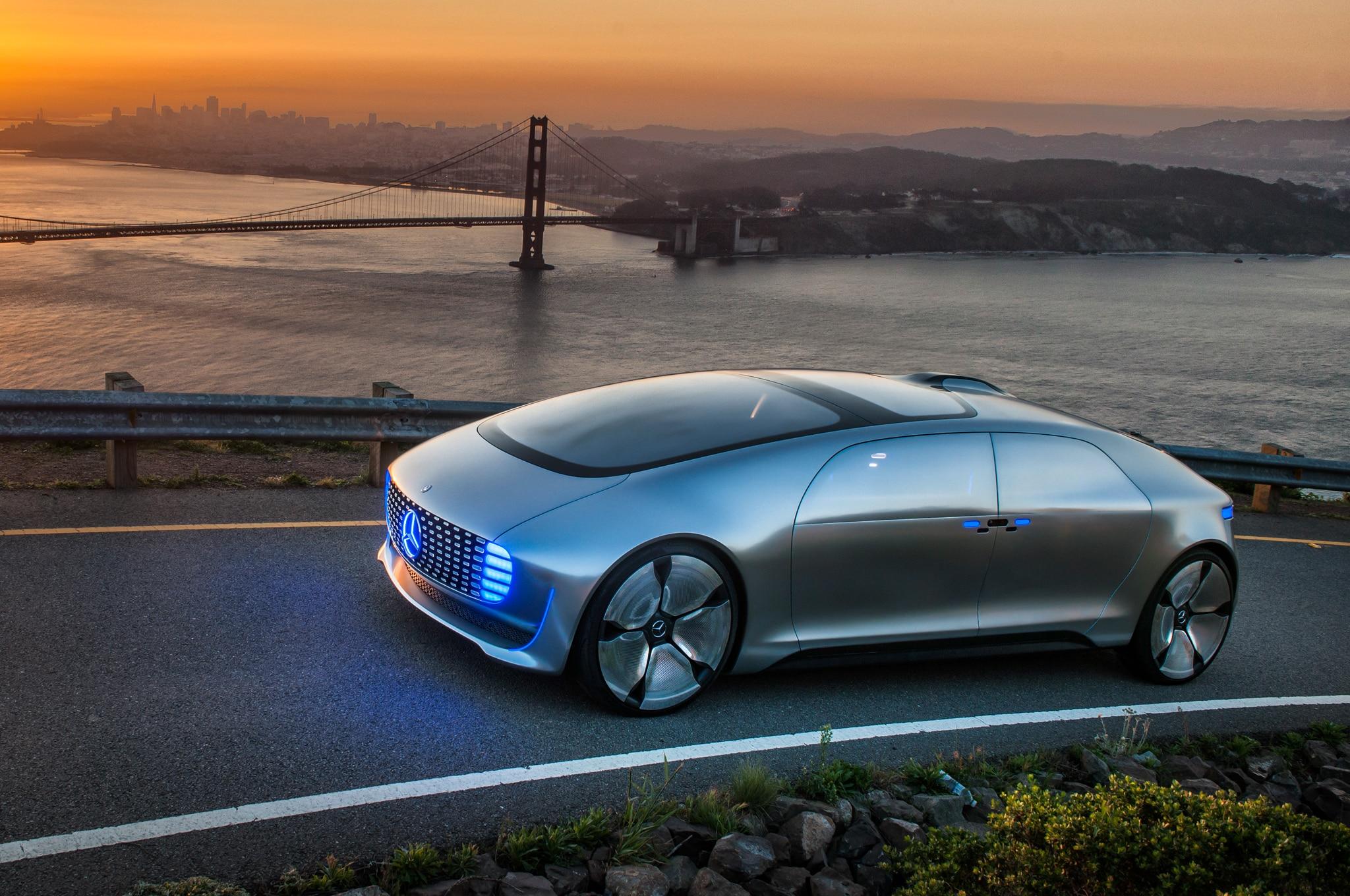 Mercedes benz vision tokyo teaser previews autonomous for Mercedes benz f 015 price