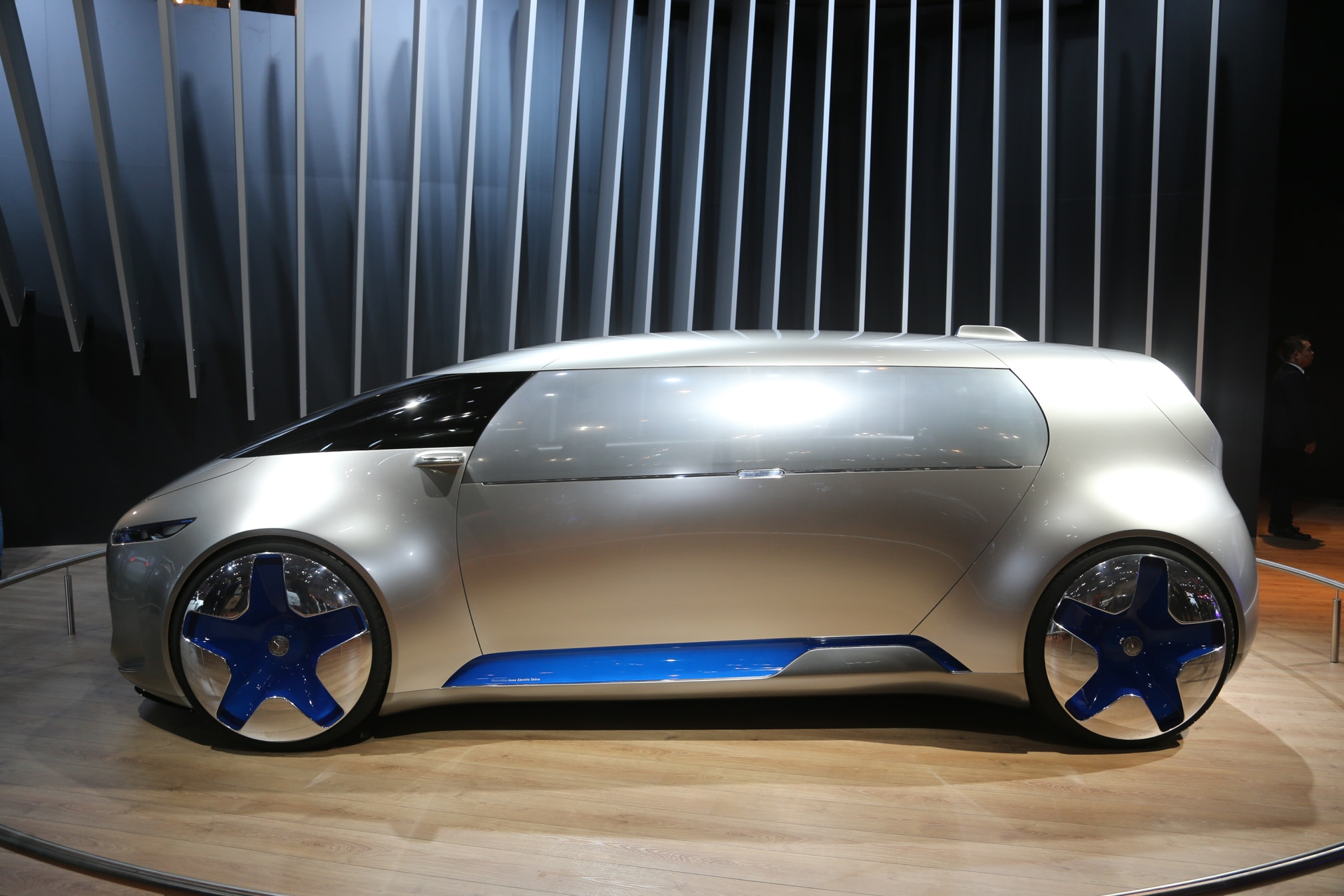 Mercedes Benz Vision Tokyo Concept Side