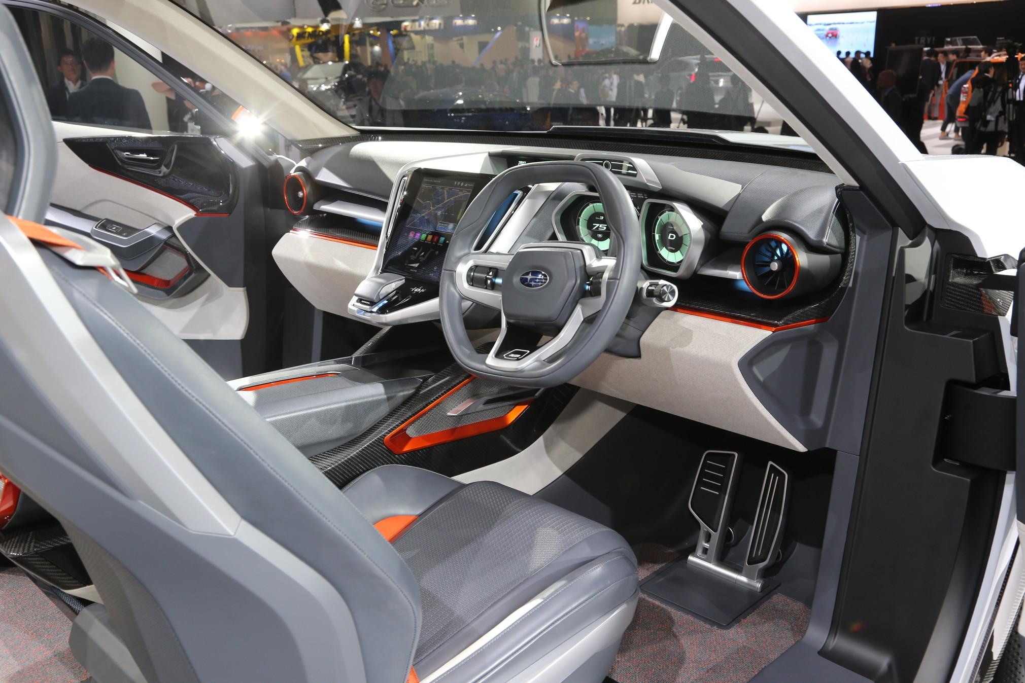 Subaru Impreza 5 Door Viziv Suv Concepts Headed For Tokyo Debut