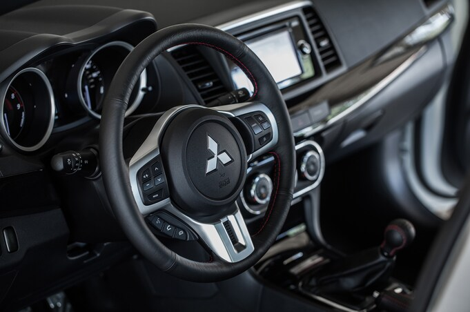 2015 mitsubishi lancer evolution final edition us steering wheel