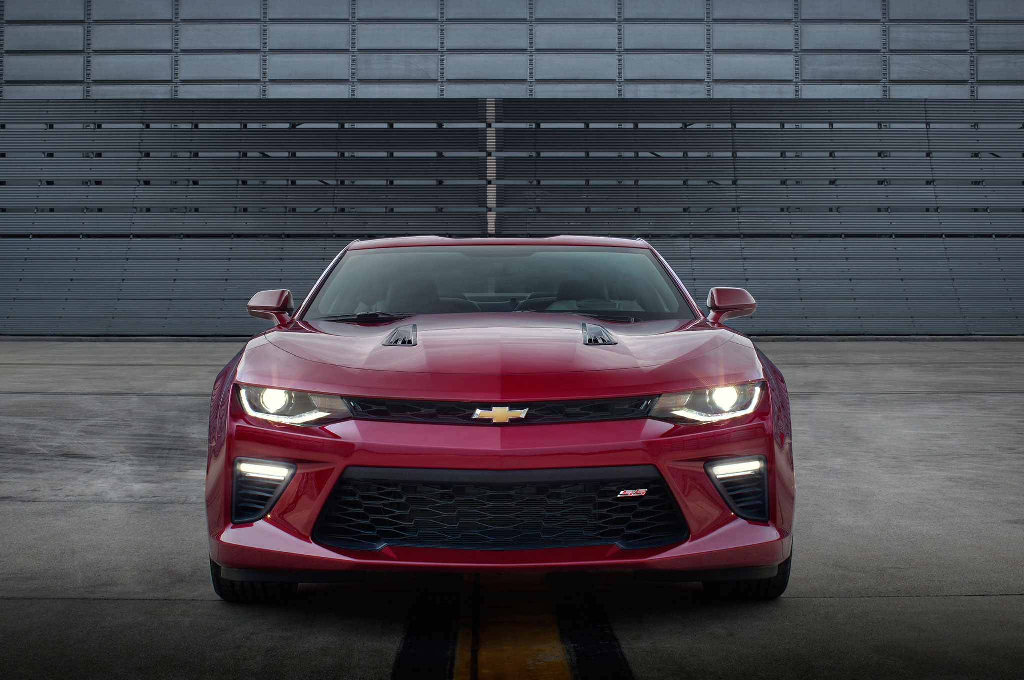 2016 Chevrolet Camaro SS front end chevrolet camaro named 2016 motor trend car of the year  at gsmportal.co