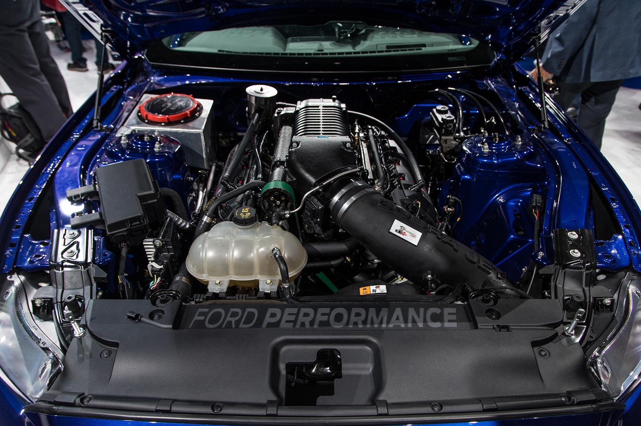 changes - Ford Mustang Cobra Jet Engine