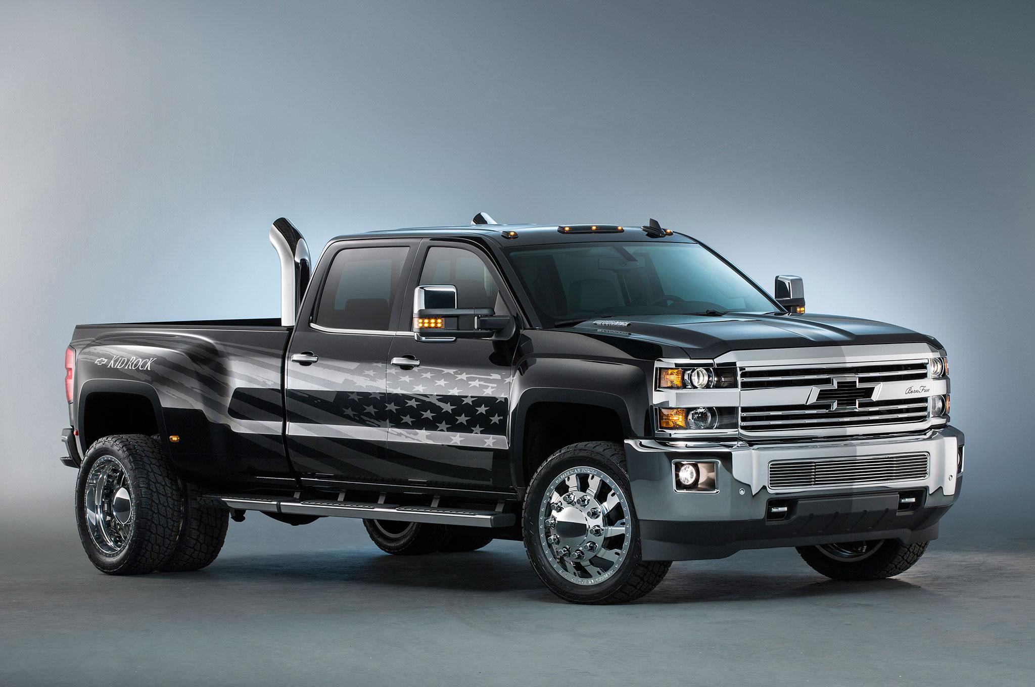 Chevrolet Silverado Kid Rock Special Ops Concepts Unveiled at SEMA