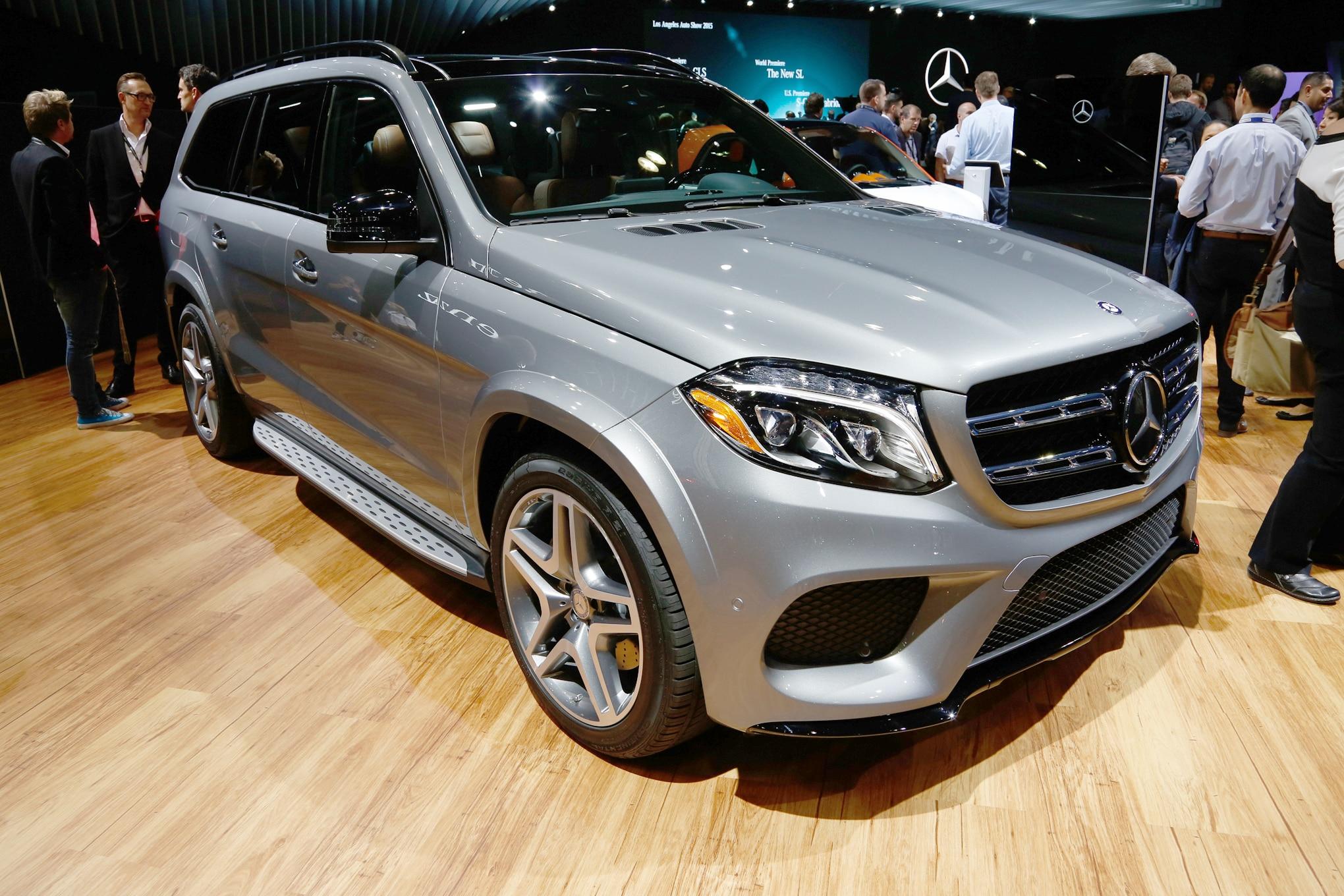 Mercedes Benz Gls450 >> 2017 Mercedes-Benz GLS Replaces GL, Adds Nine-Speed