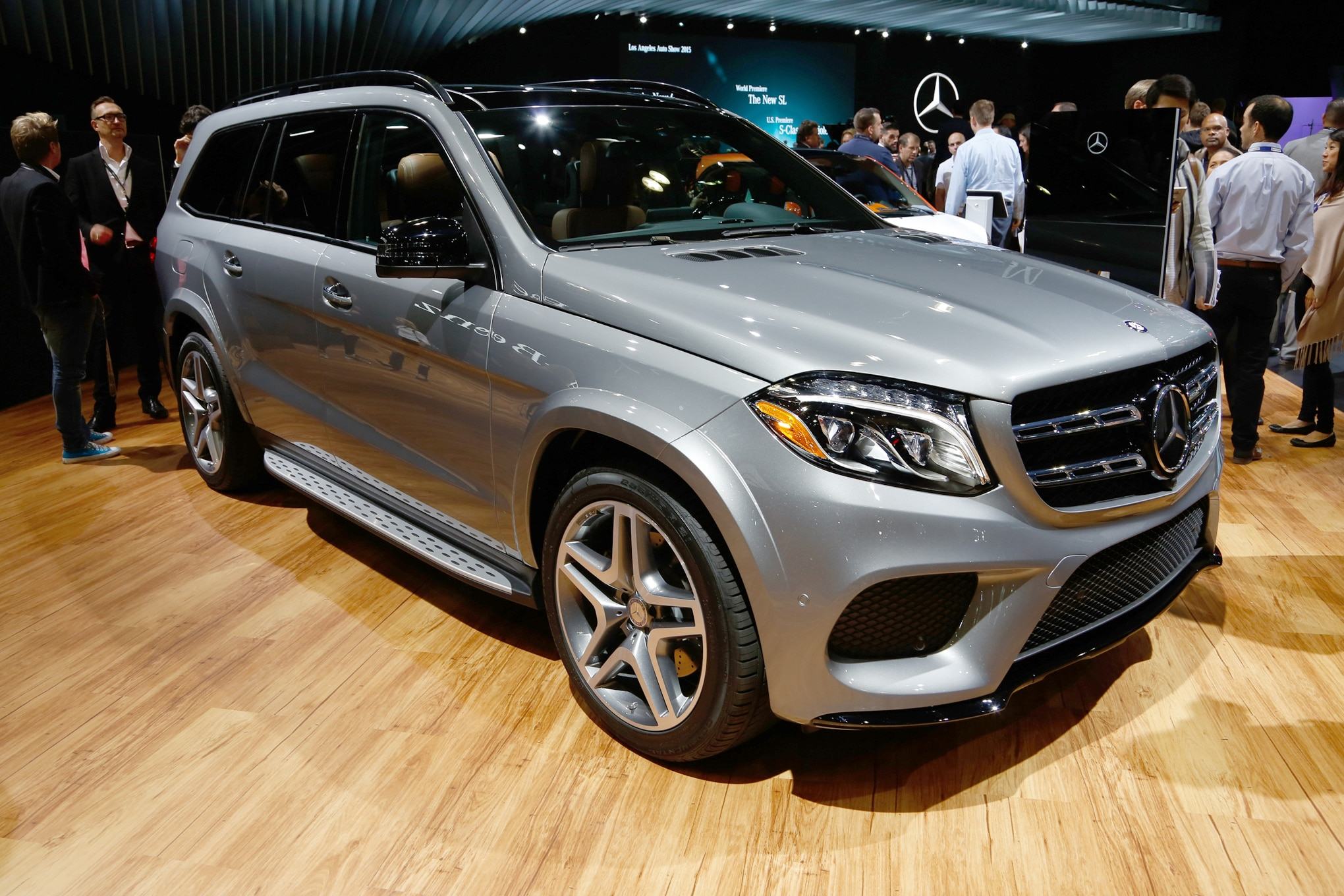 2017 mercedes benz gls replaces gl adds nine speed