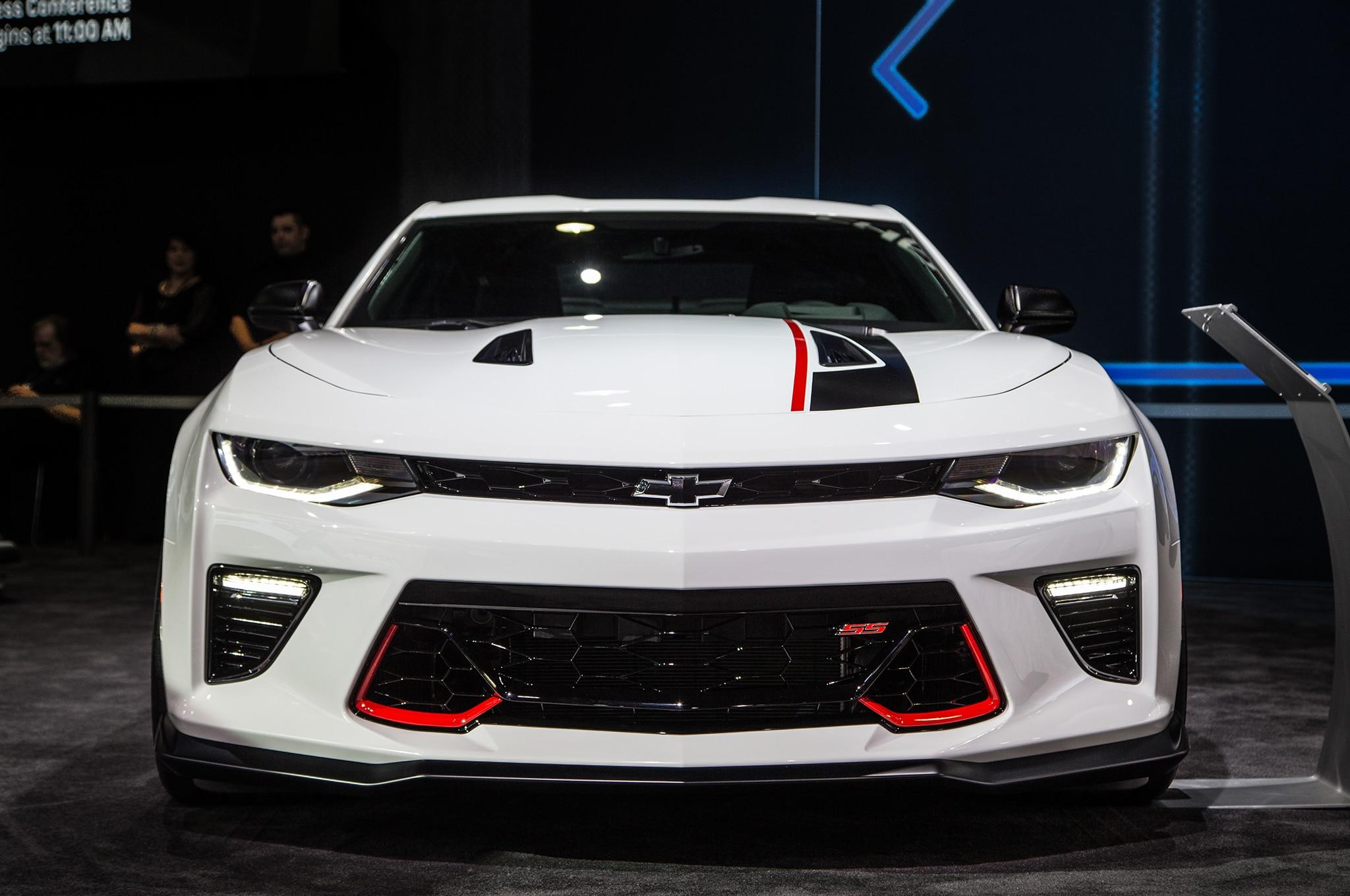 show more - Chevrolet Performance Camaro V 6 And V 8 Concepts