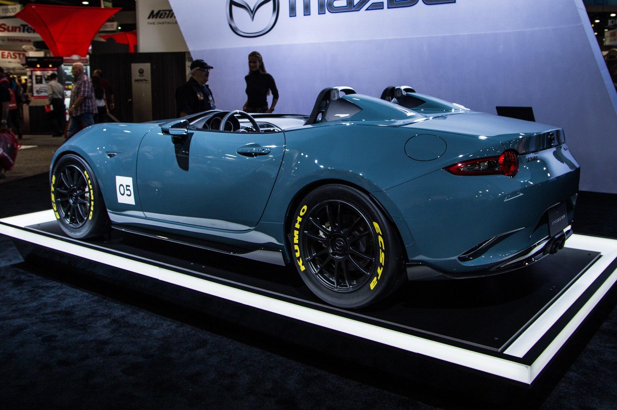 2016 Mazda Mx 5 Miata Spyder Speedster Concepts Shed