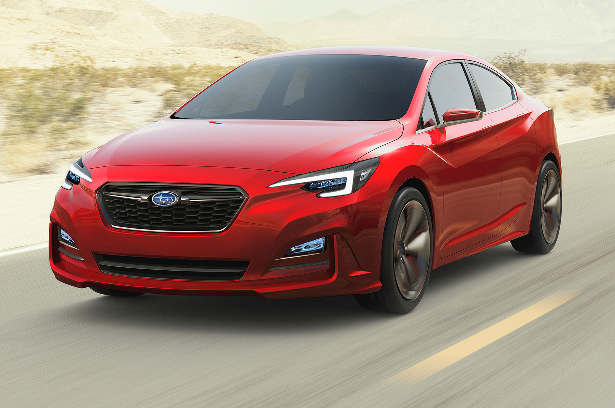 Five Things To Know About The Subaru Impreza Sedan Concept