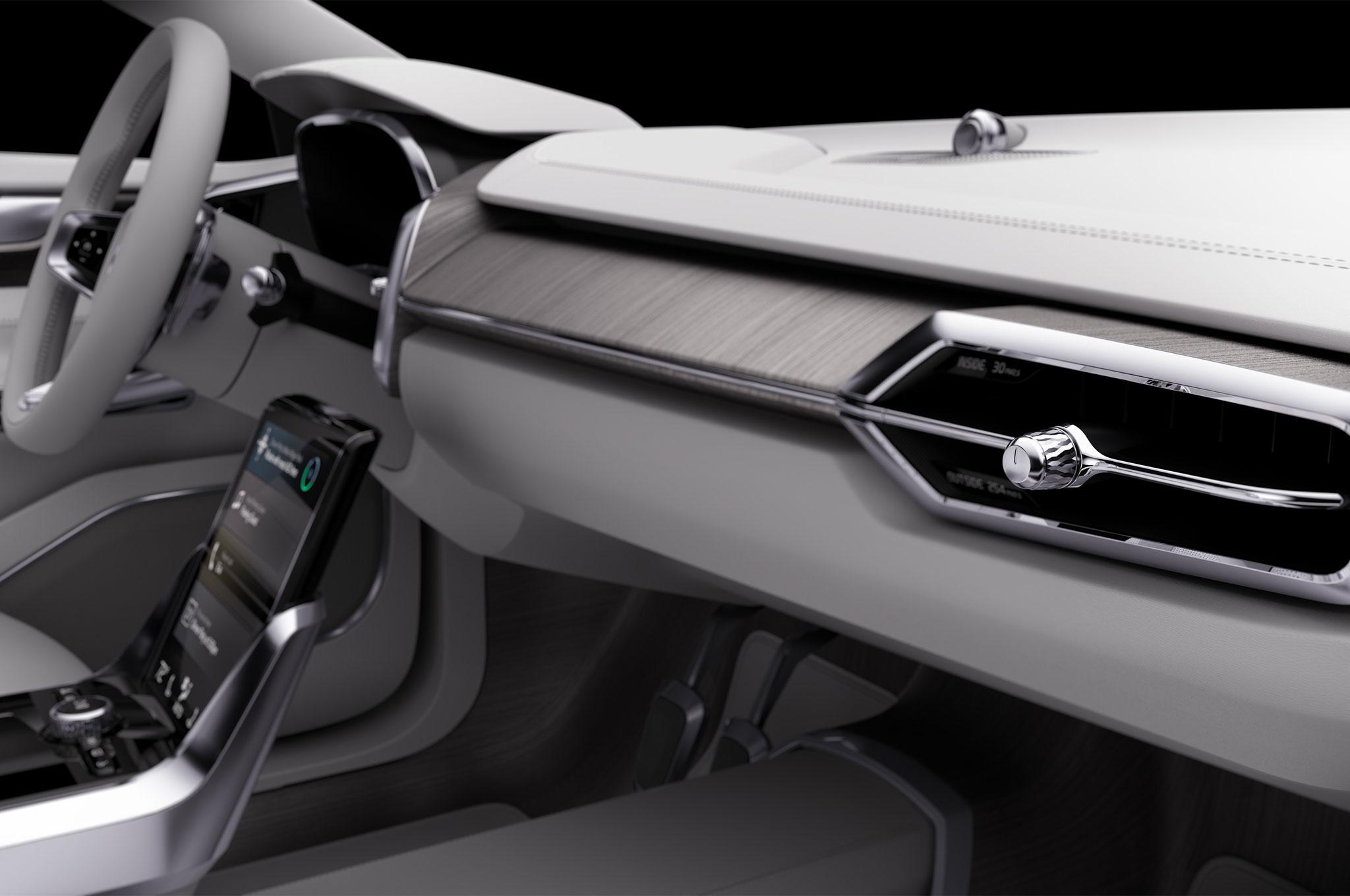 volvo concept 26 previews the interior of your autonomous car. Black Bedroom Furniture Sets. Home Design Ideas