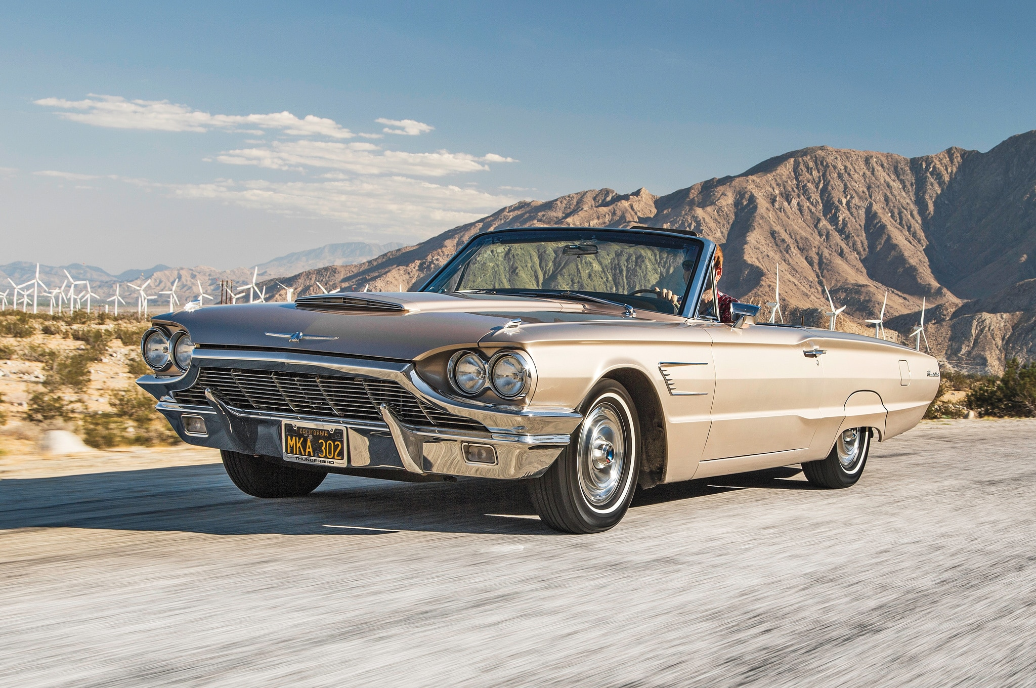 1964 1966 Ford Thunderbird Convertible 01