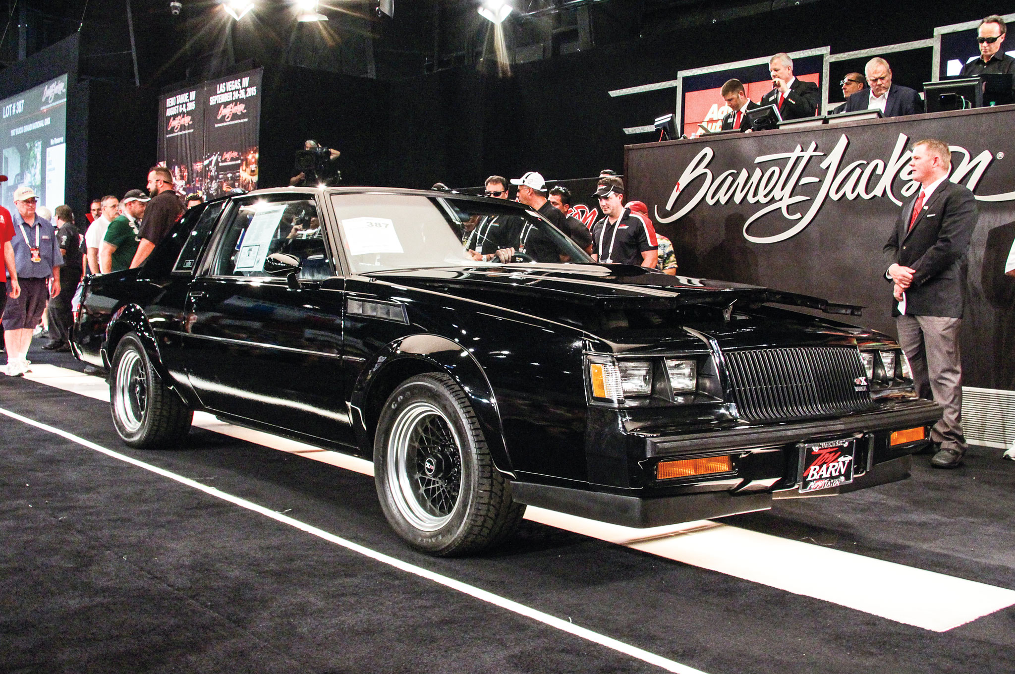 Buick Grand National Gnx on 1987 Chrysler Town And Country