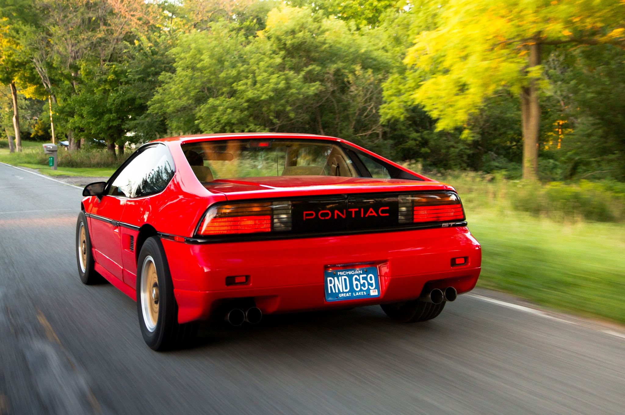 Collectible Classic Pontiac Fiero