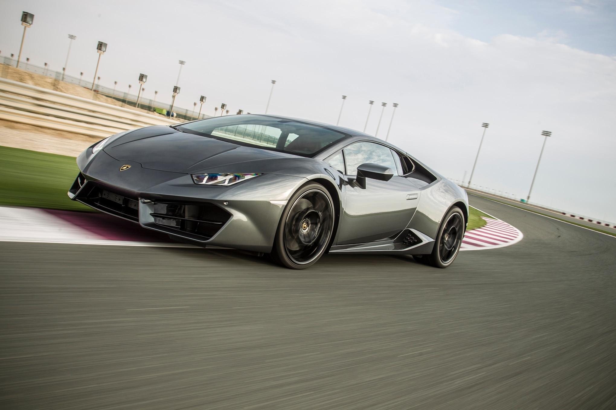 2016-Lamborghini-Huracan-LP580-2-front-three-quarter-in-motion-05 Marvelous Lamborghini Huracan Price In Uae Cars Trend