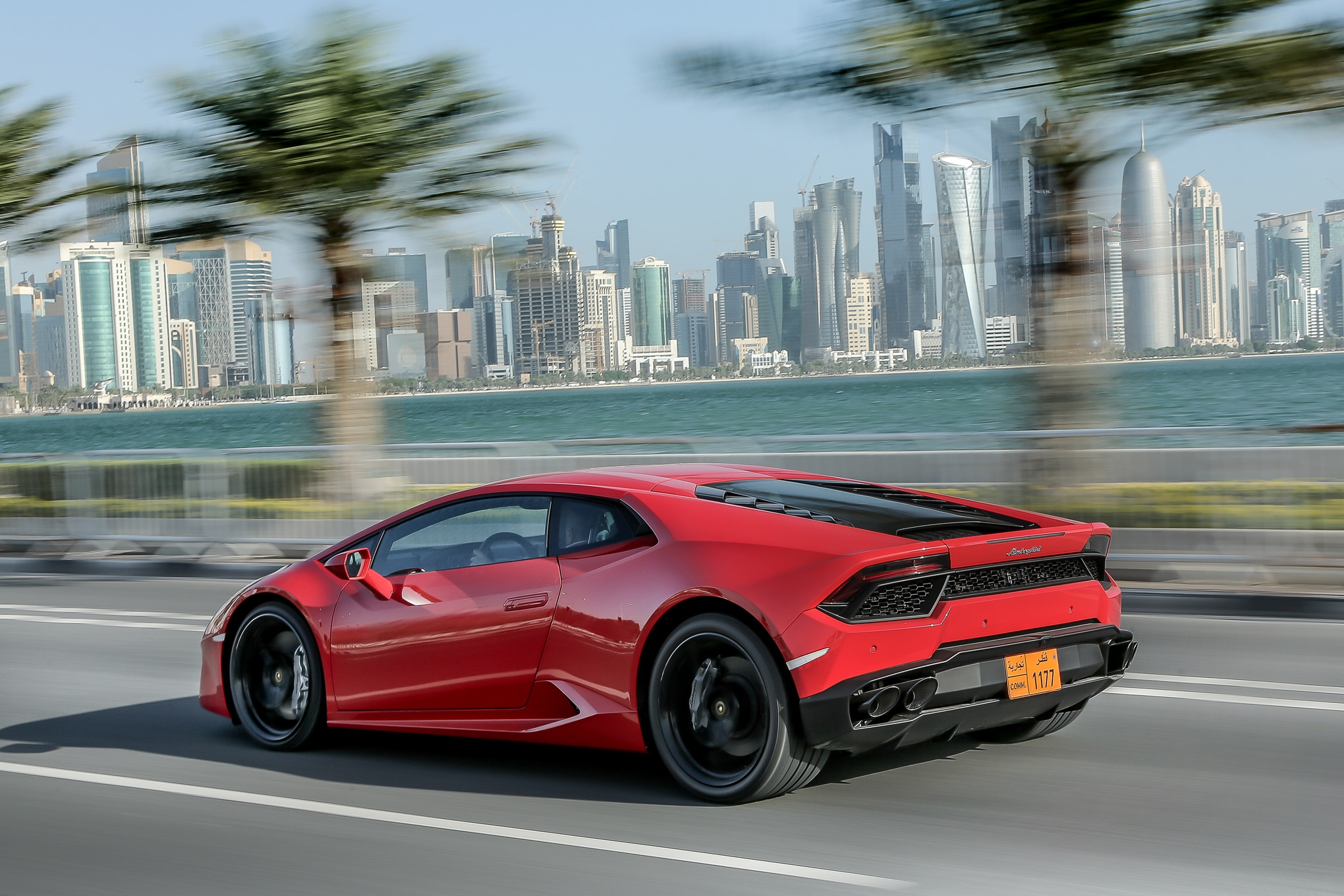 2016-Lamborghini-Huracan-LP580-2-rear-three-quarter-in-motion2 Marvelous Lamborghini Huracan Price In Uae Cars Trend
