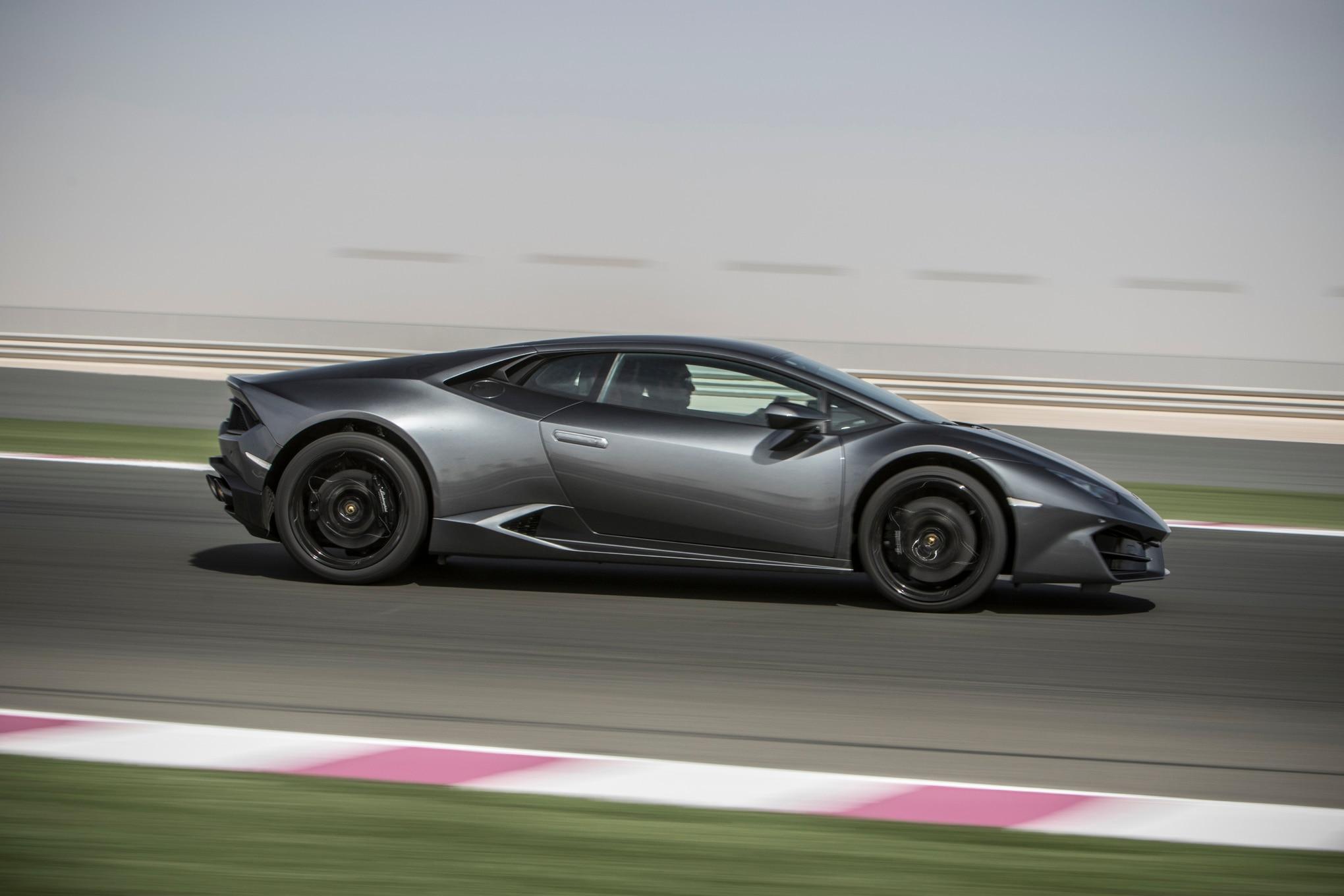 gray 2016 lamborghini huracan - Lamborghini Huracan Grey