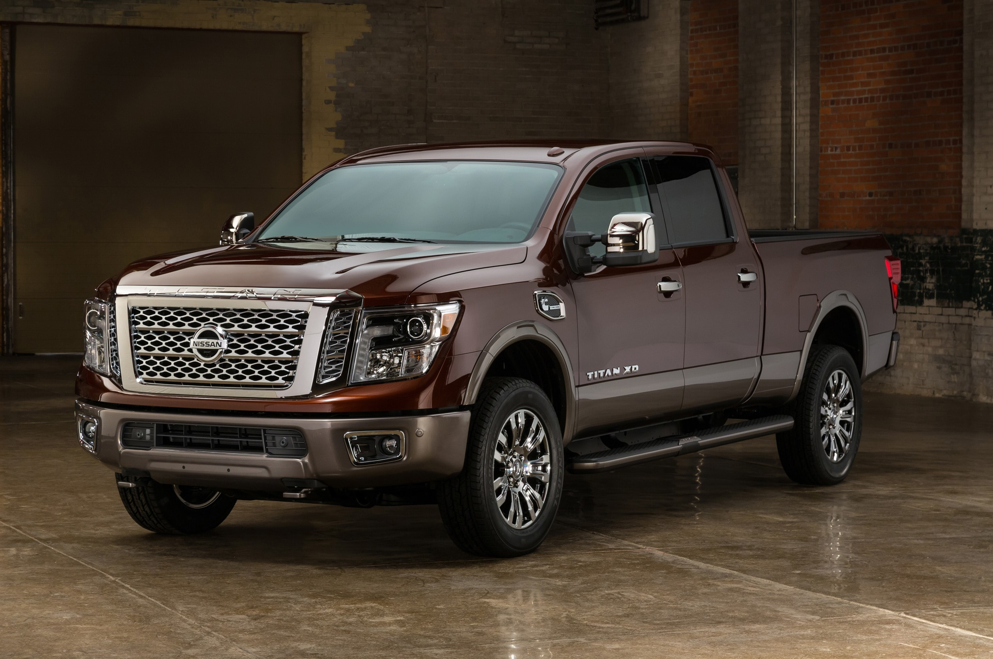 2016 nissan titan xd diesel starts at 41 485. Black Bedroom Furniture Sets. Home Design Ideas