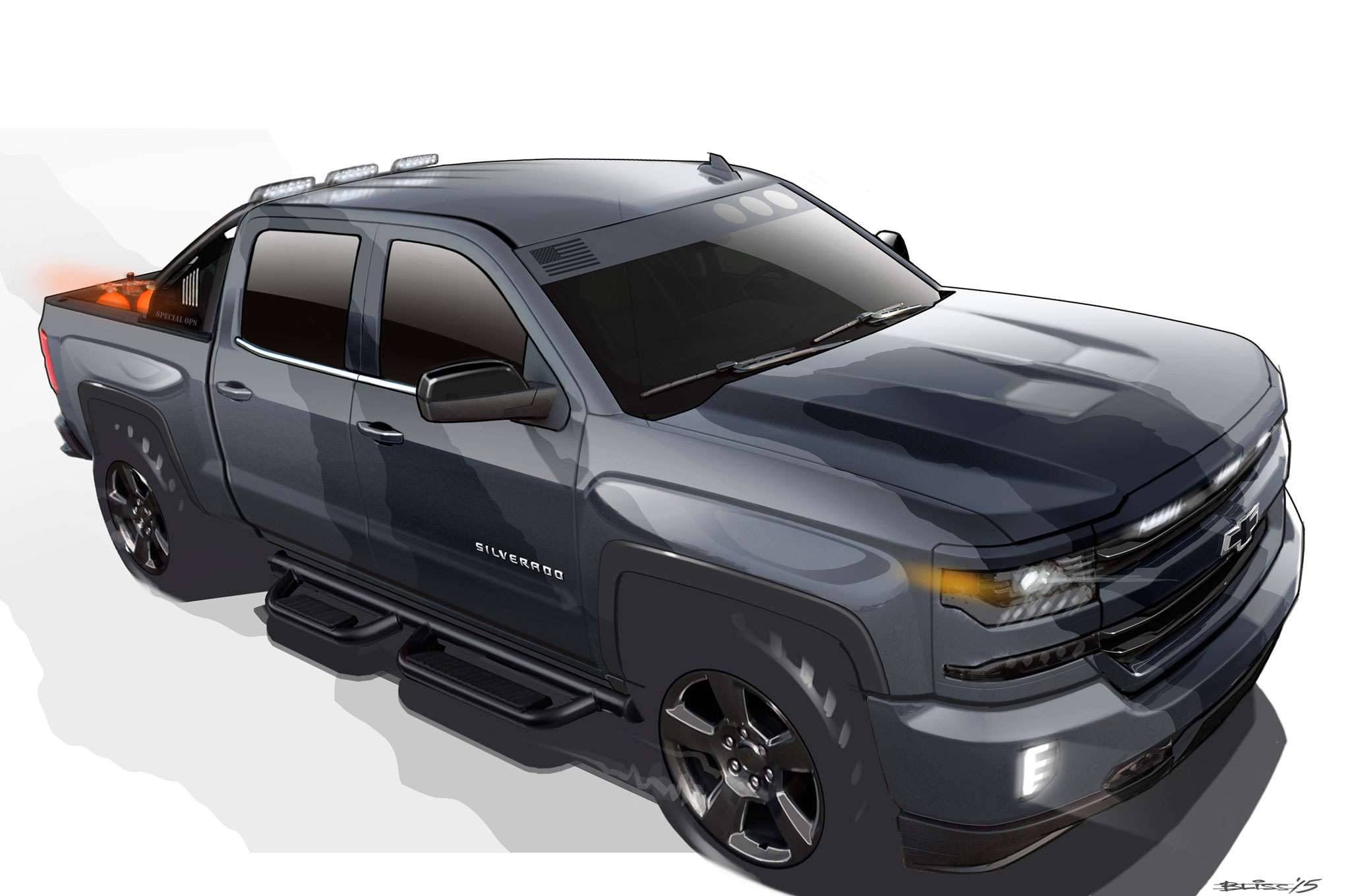 Chevrolet Silverado Special Ops Headed to Production