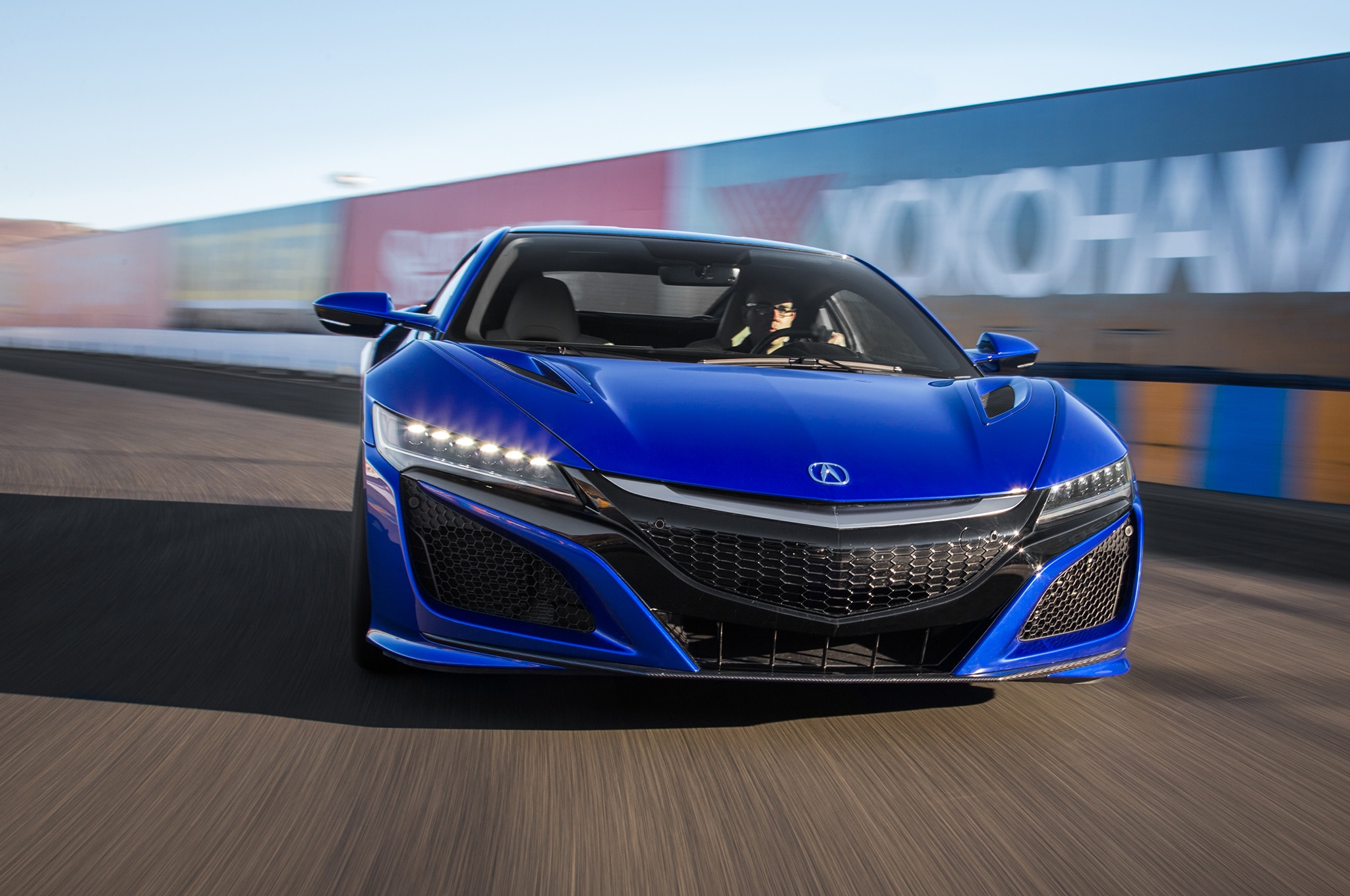 2017 Acura NSX Front Motion