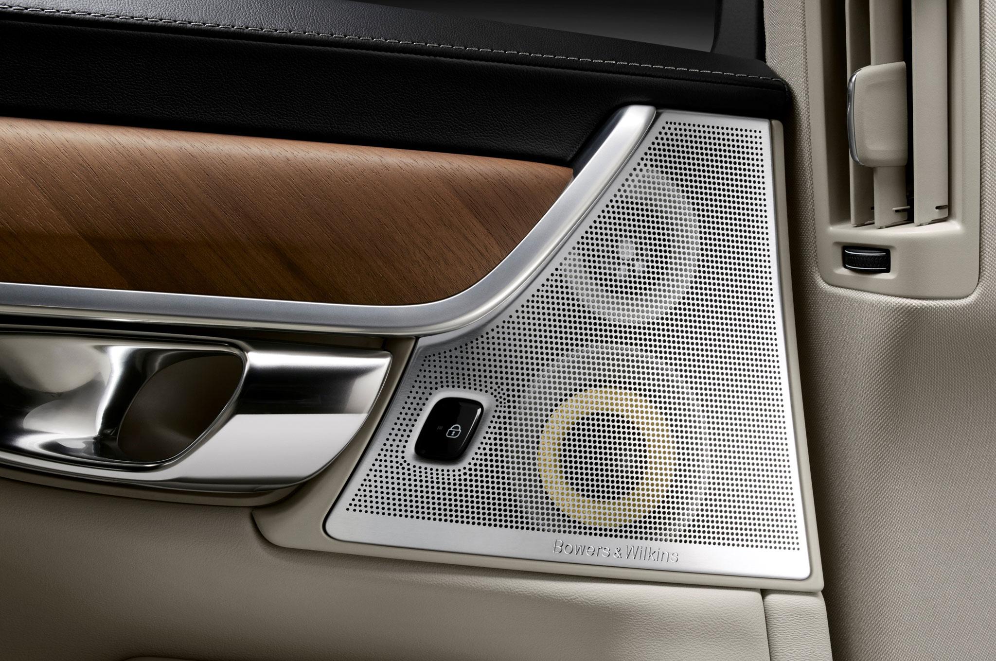 Take a look inside the 2017 volvo s90 luxury sedan for Interior back doors