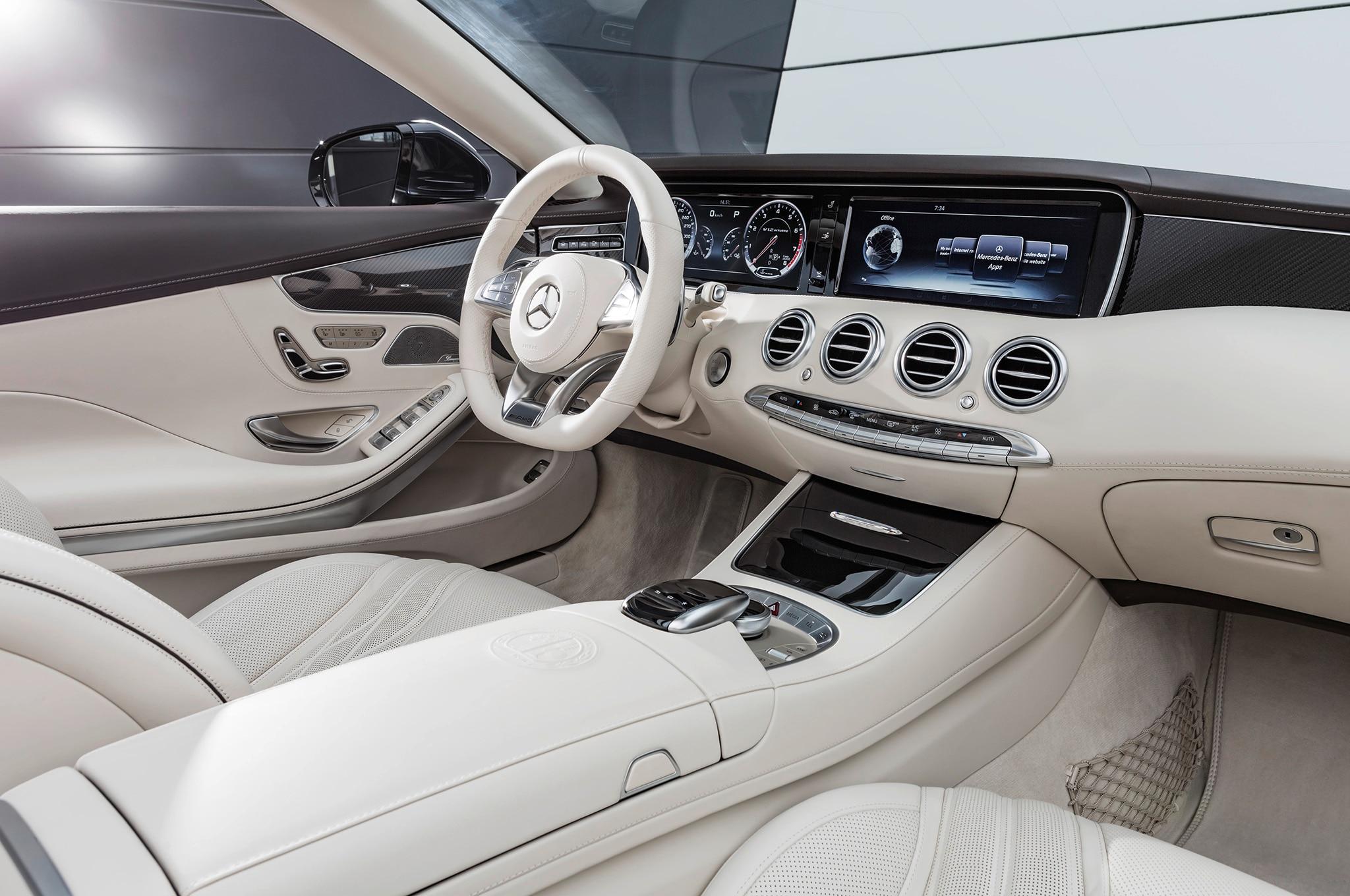 2017 mercedes benz s550 cabriolet interior 02 - Show More