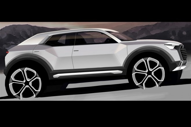 audi q2 crossover redesigned q5 to debut in 2016. Black Bedroom Furniture Sets. Home Design Ideas