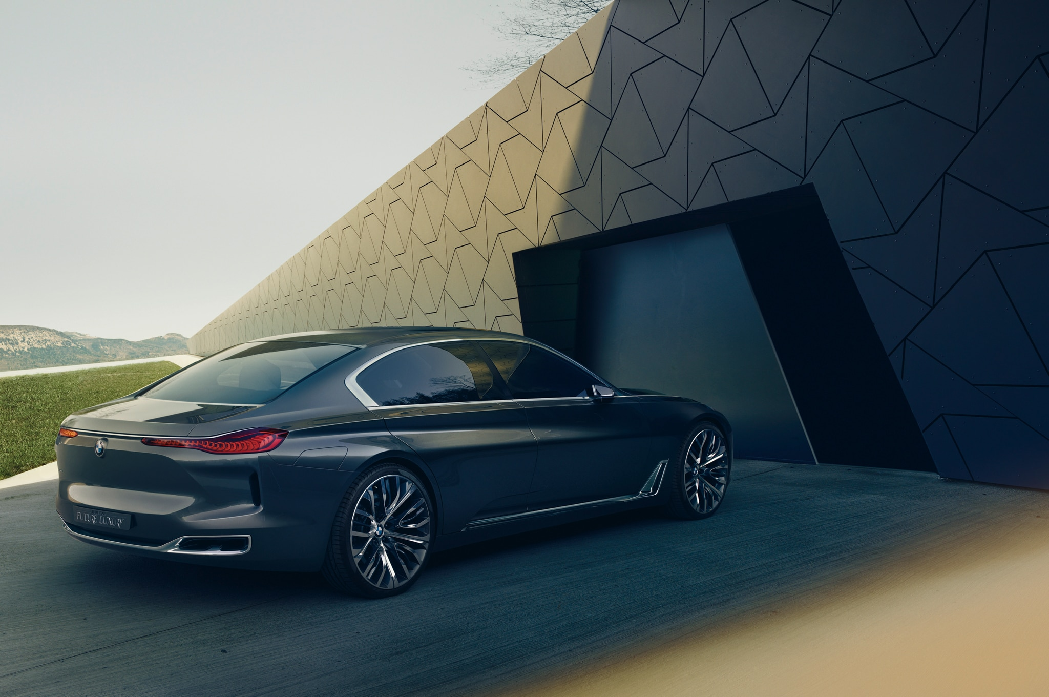 bmw planning 9 series four door coupe i6 electric sedan. Black Bedroom Furniture Sets. Home Design Ideas