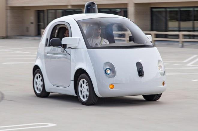 Google Car Prototype homepage