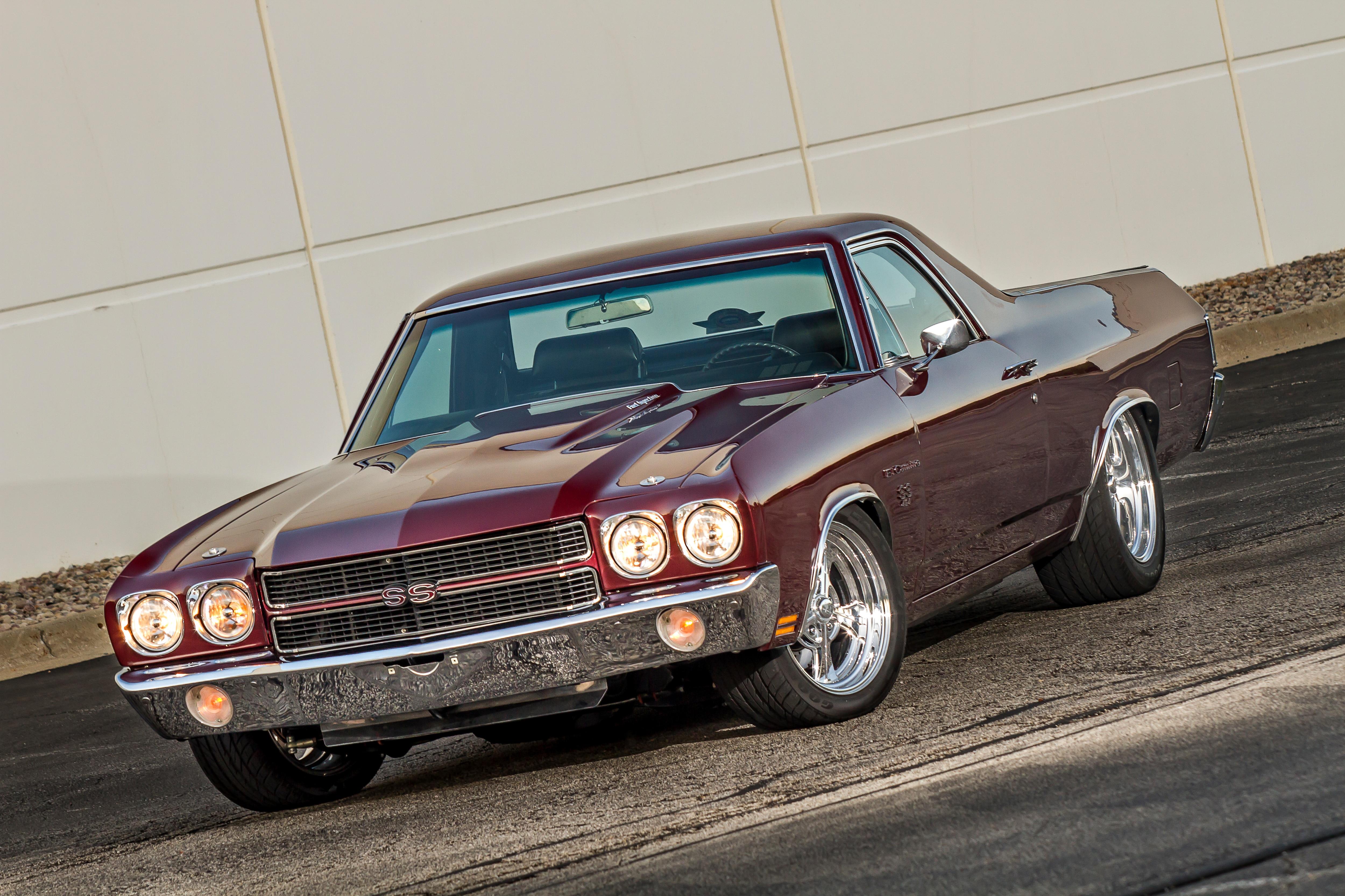 1 1970 Chevy El Camino Front