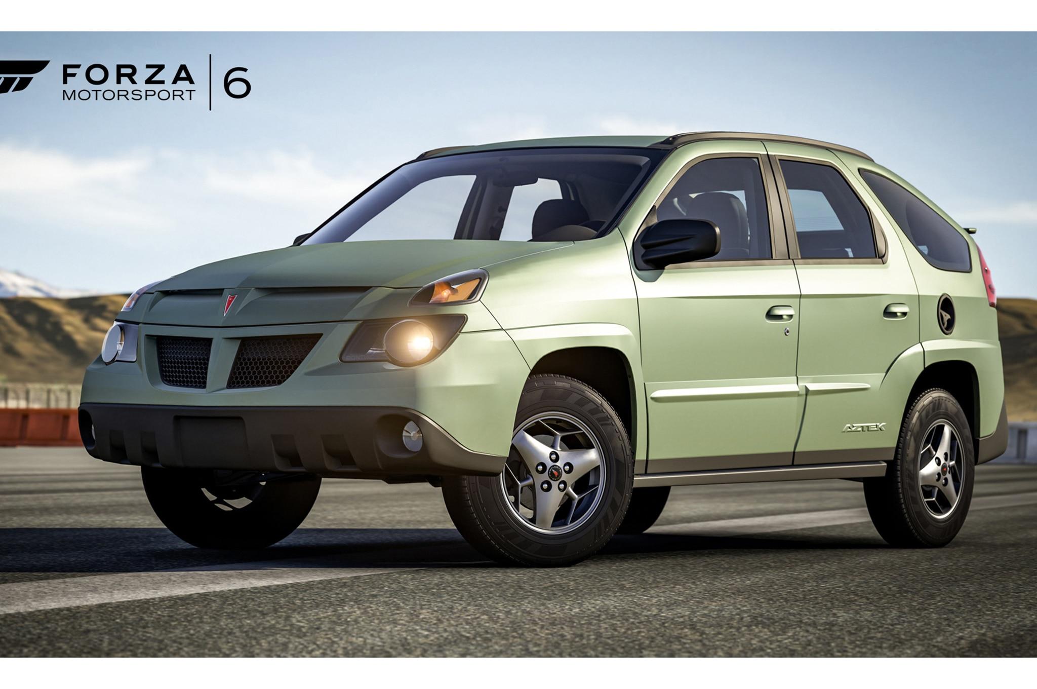 Latest Forza Motorsport 6 Car Pack Includes The Pontiac Aztek