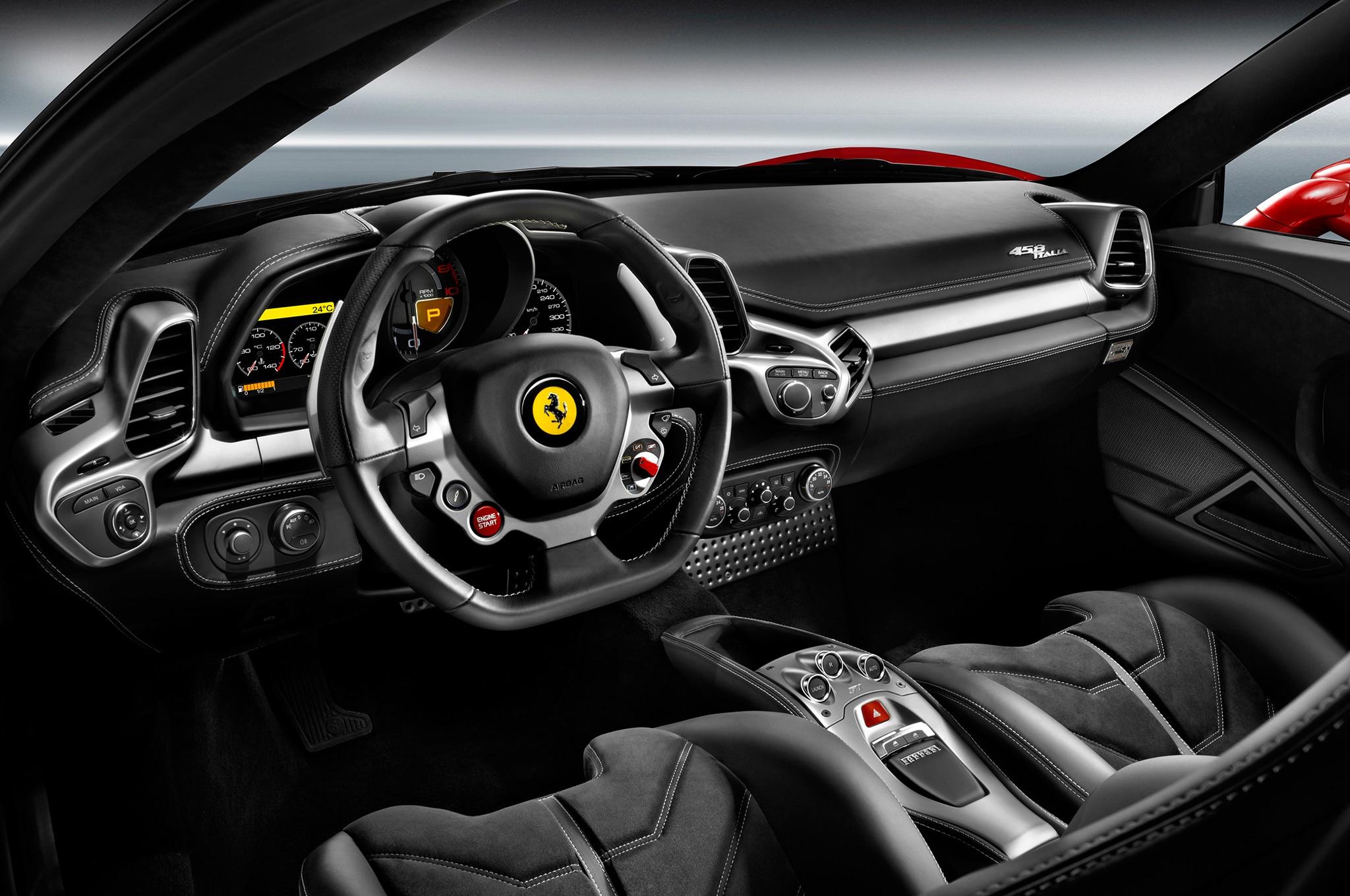 2014 ferrari 458 speciale interior passenger side ferrari 458 2014 ferrari 458 italia interior drivers view vanachro Images
