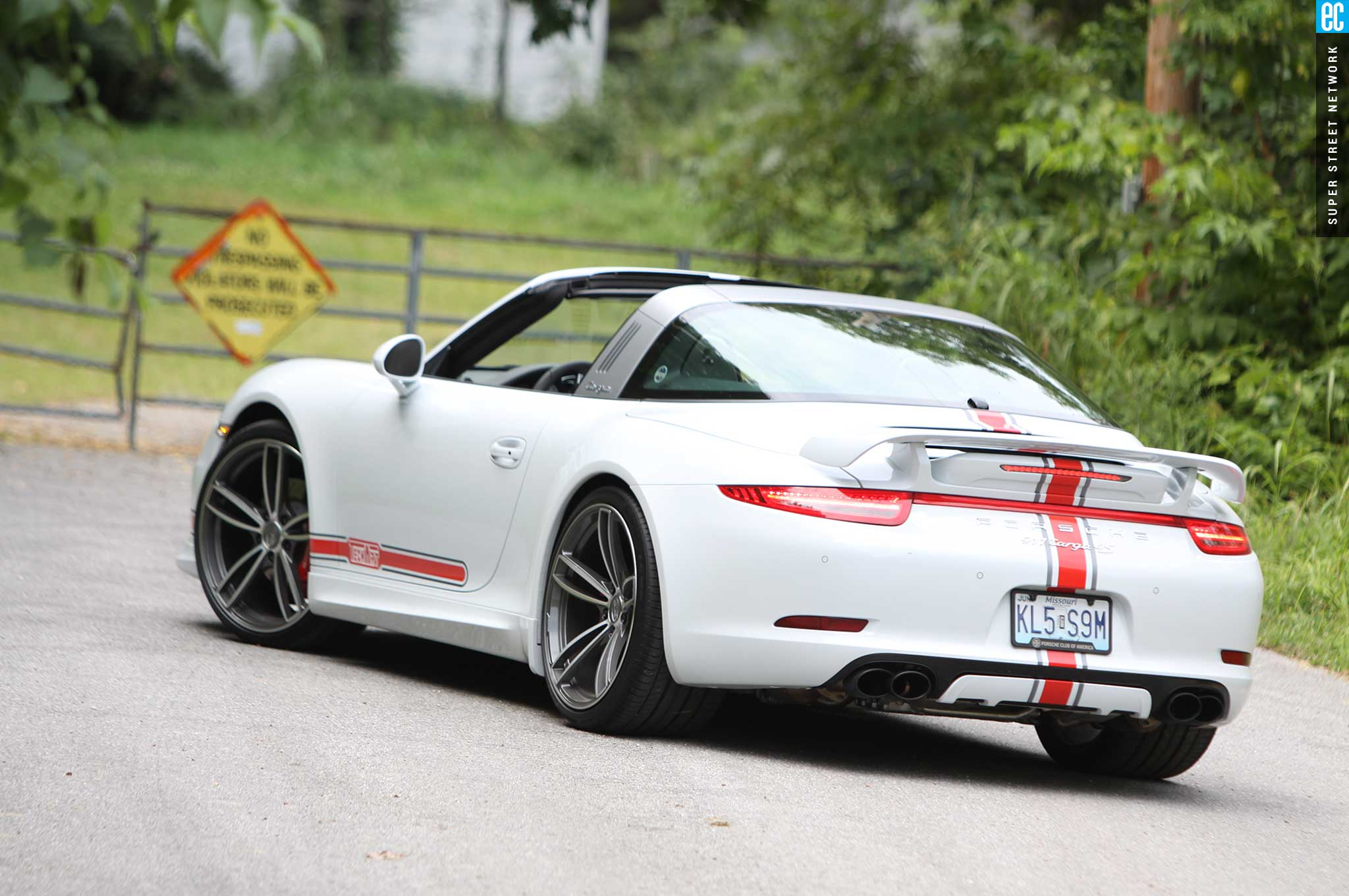 techart works its magic on the 2015 porsche 991 targa 4s