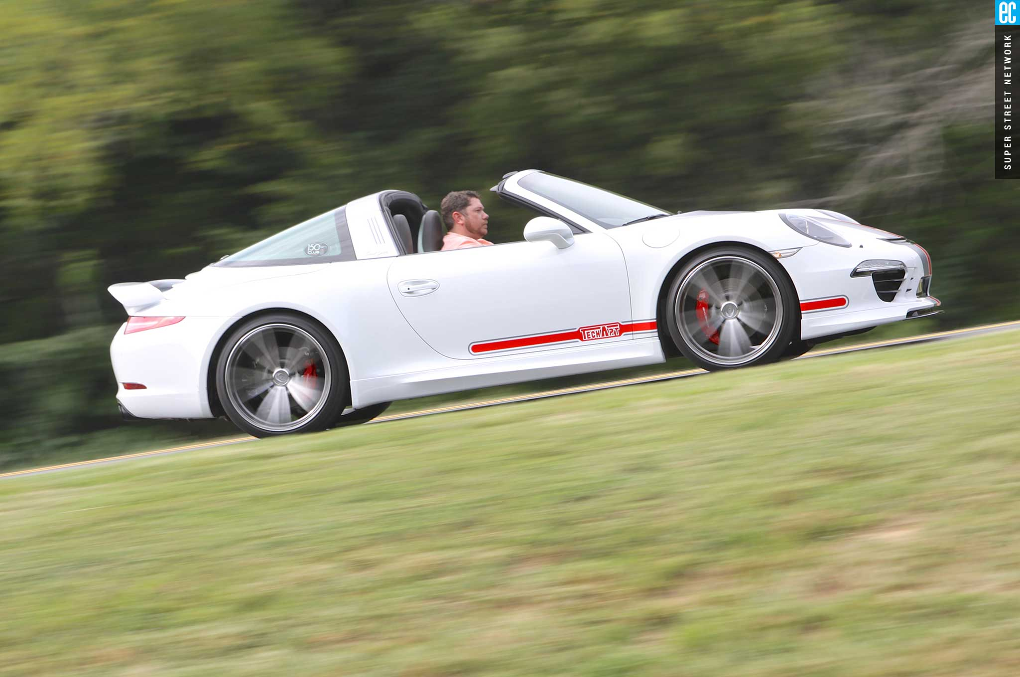 Techart works its magic on the 2015 porsche 991 targa 4s today sciox Image collections