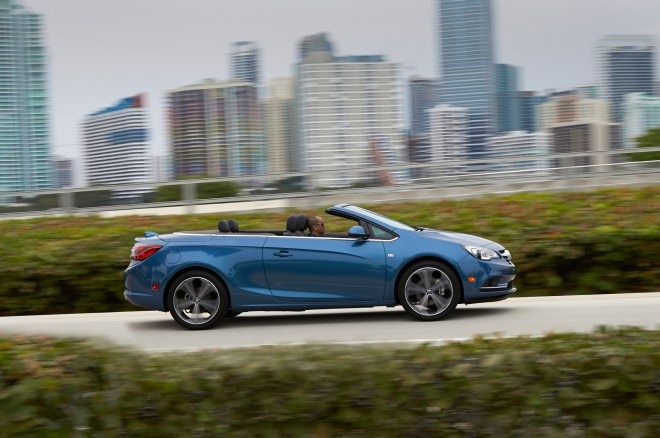 2016 Buick Cascada Convertible side in motion