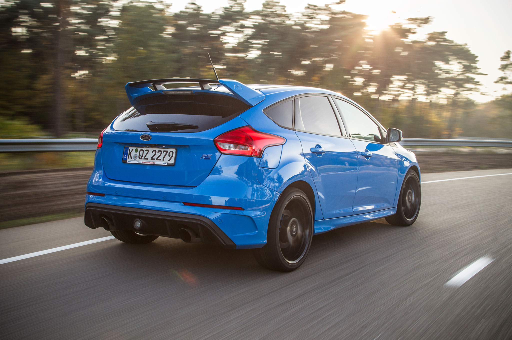 2016 Ford Focus RS Euro Spec Track Drive