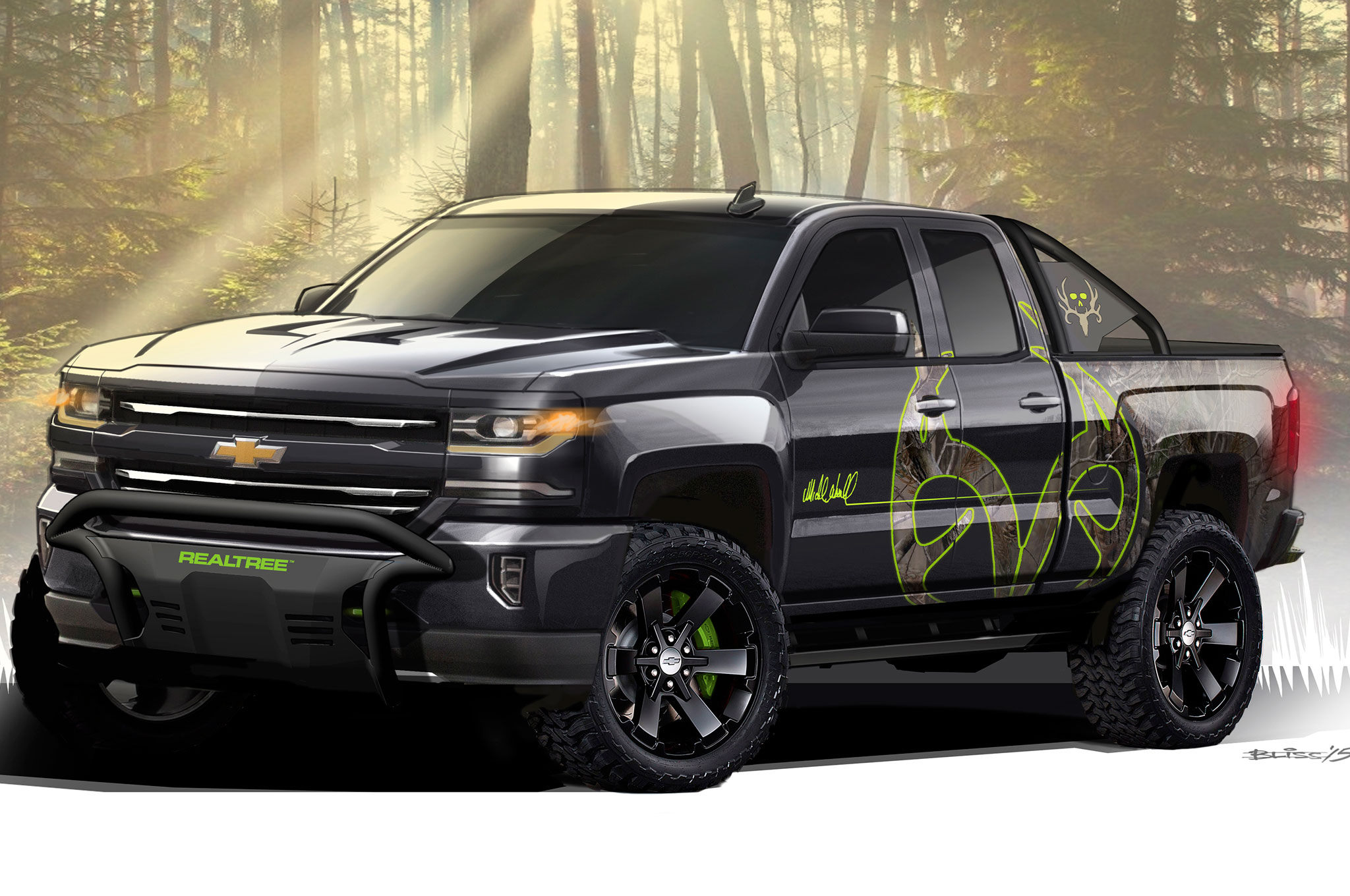 2016 chevrolet silverado adds hunting inspired realtree edition