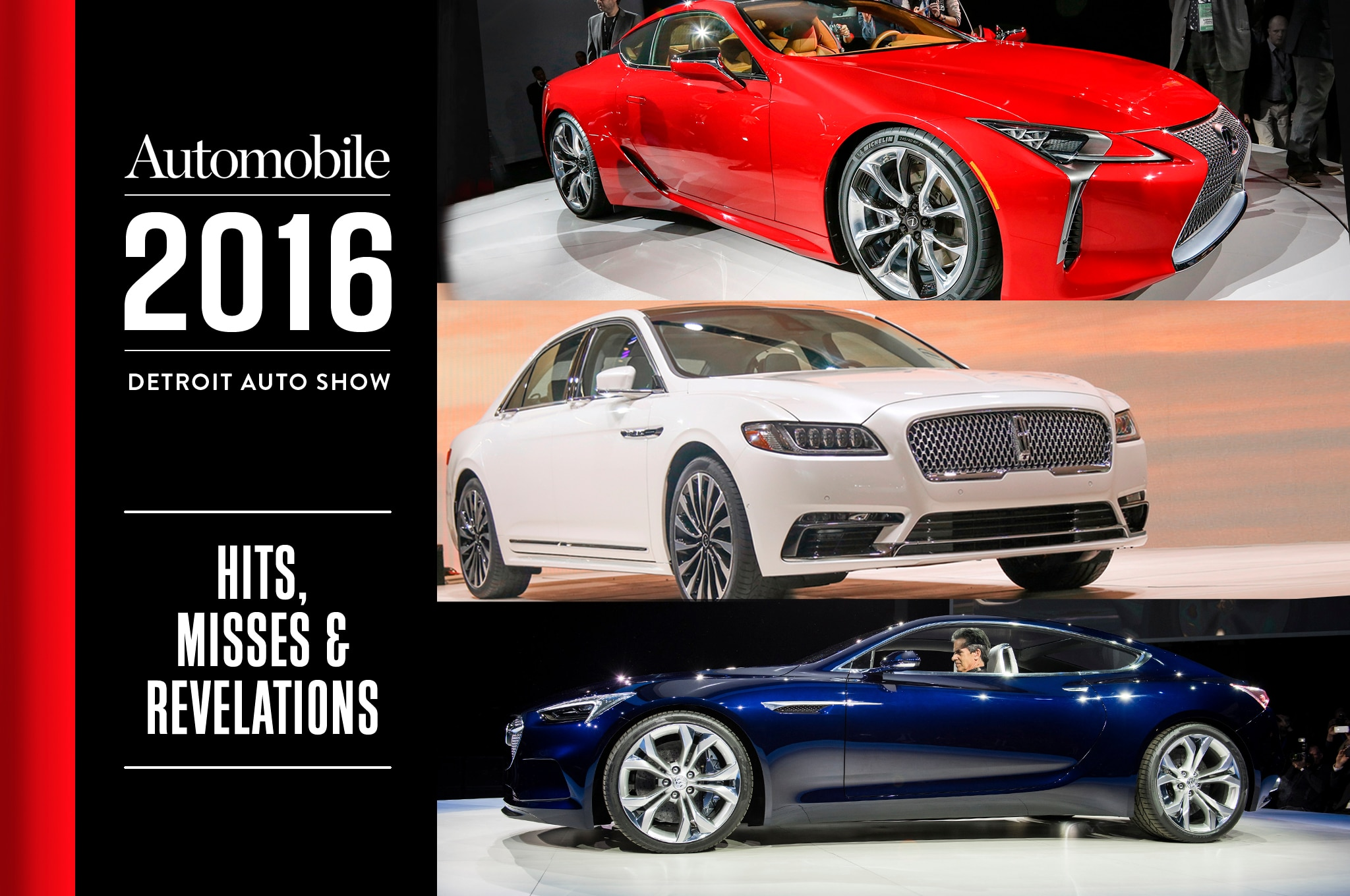 2016 Detroit Auto Show Hits Misses Revelations