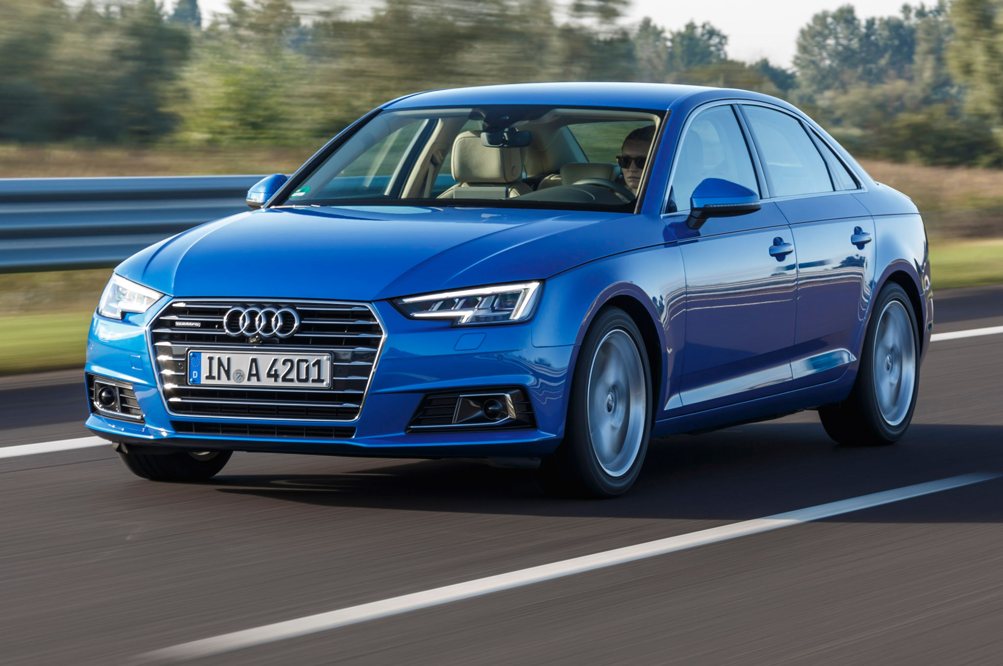 2017 Audi A4 Priced at 38250 Quattro at 40350