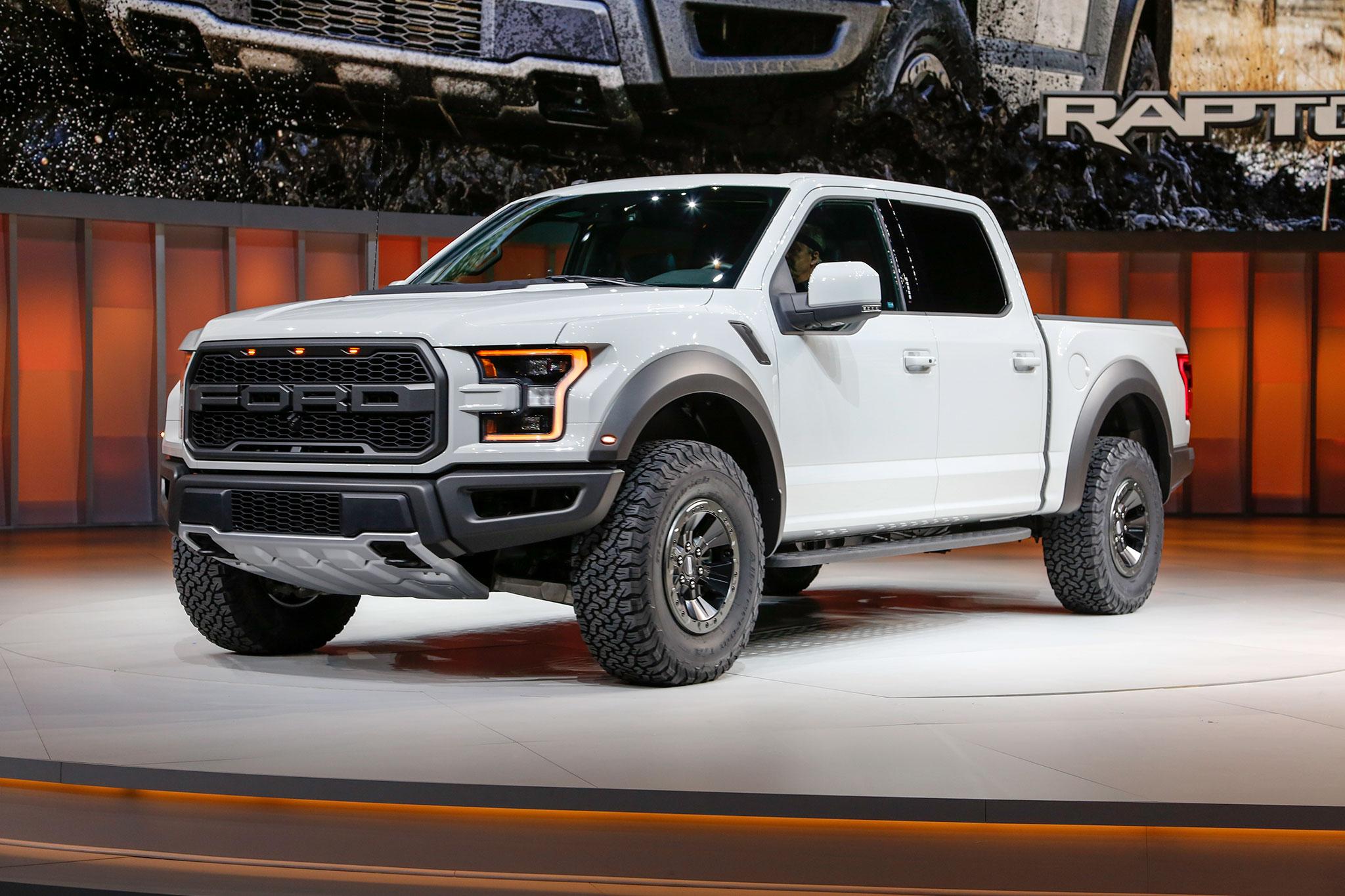 2017 Ford F 150 3 5 Liter Raptor Models Add Engine Stop Start