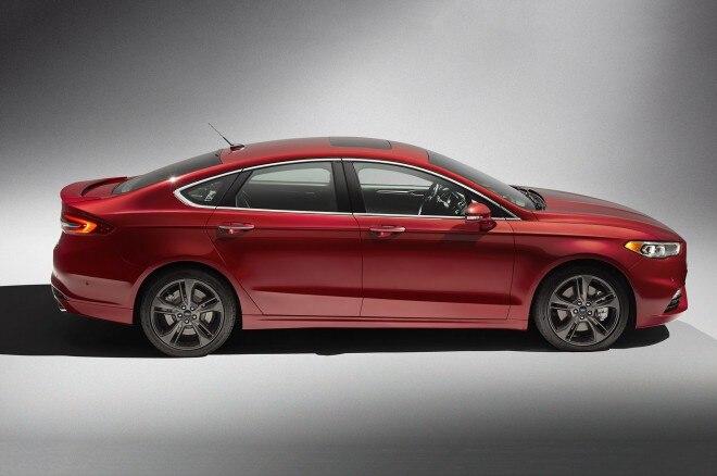 2017 Ford Fusion Sport profile