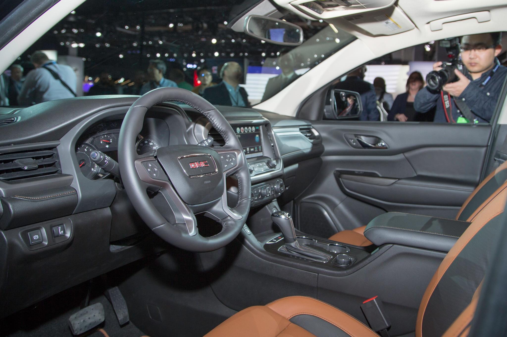 2015 gmc acadia interior. show more 2015 gmc acadia interior