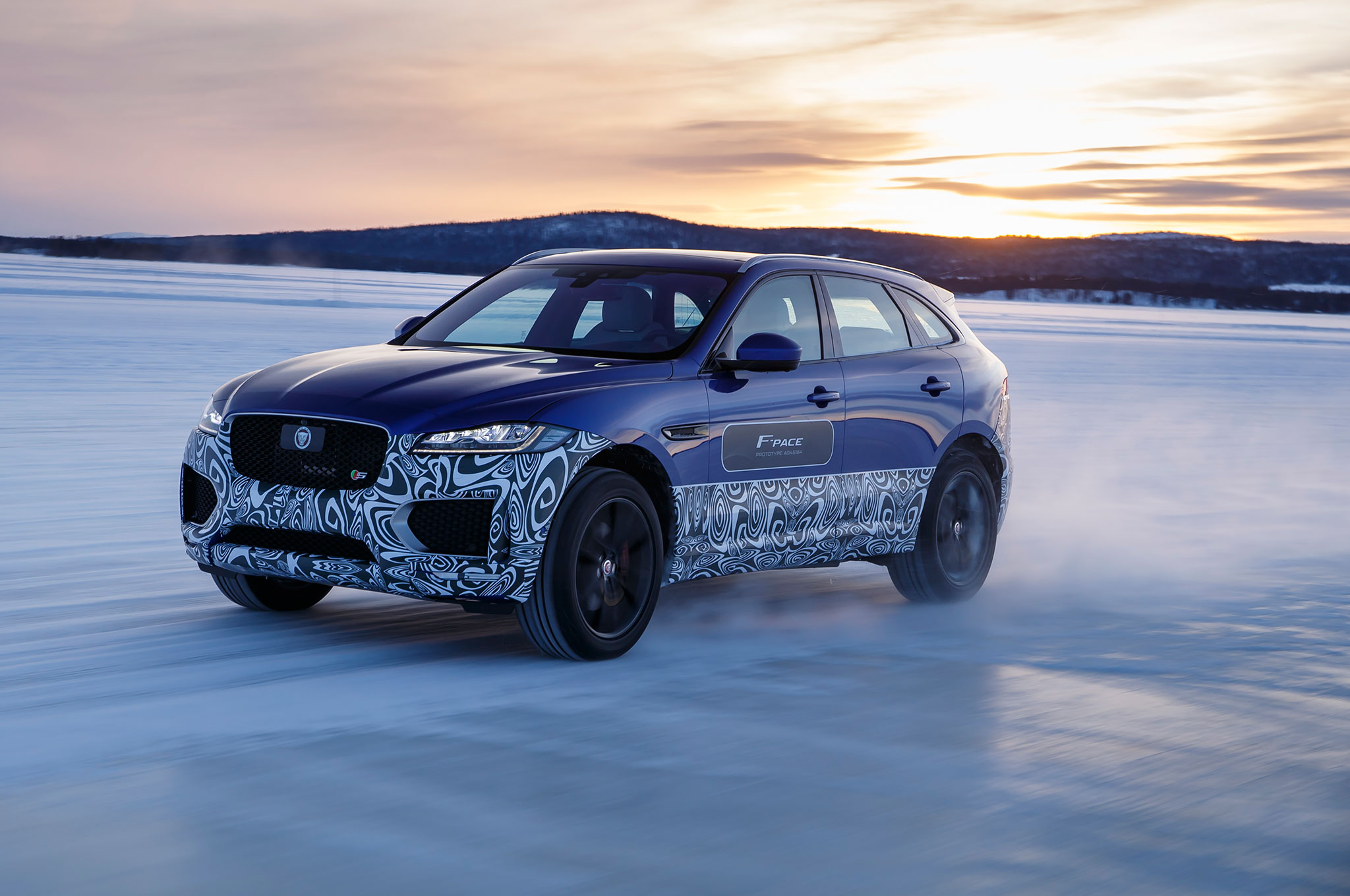 2017 Jaguar F Pace Prototype Front Three Quarter In Motion 201