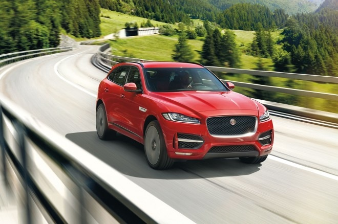 2017 Jaguar F Pace Front Three Quarter In Motion 07 660x438