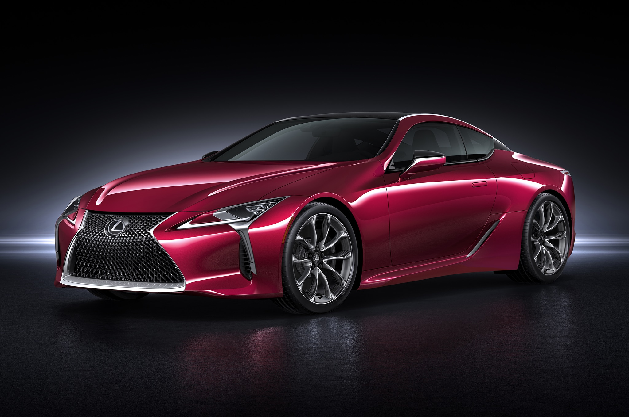 2017 lexus lc 500 toyoda s vision for lexus comes into focus. Black Bedroom Furniture Sets. Home Design Ideas