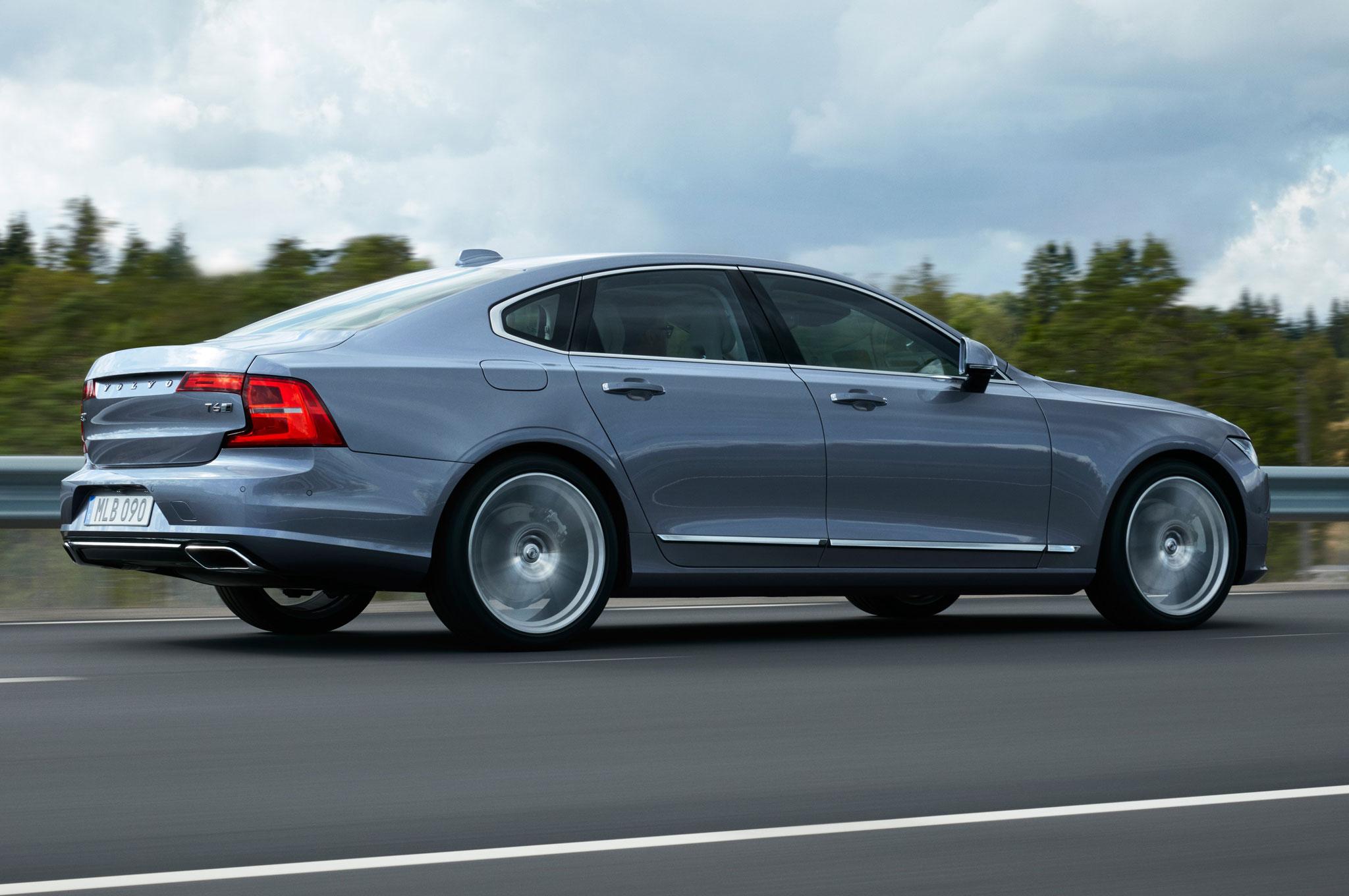 Volvo Luxury Sedan Fully Revealed With Inspired Design