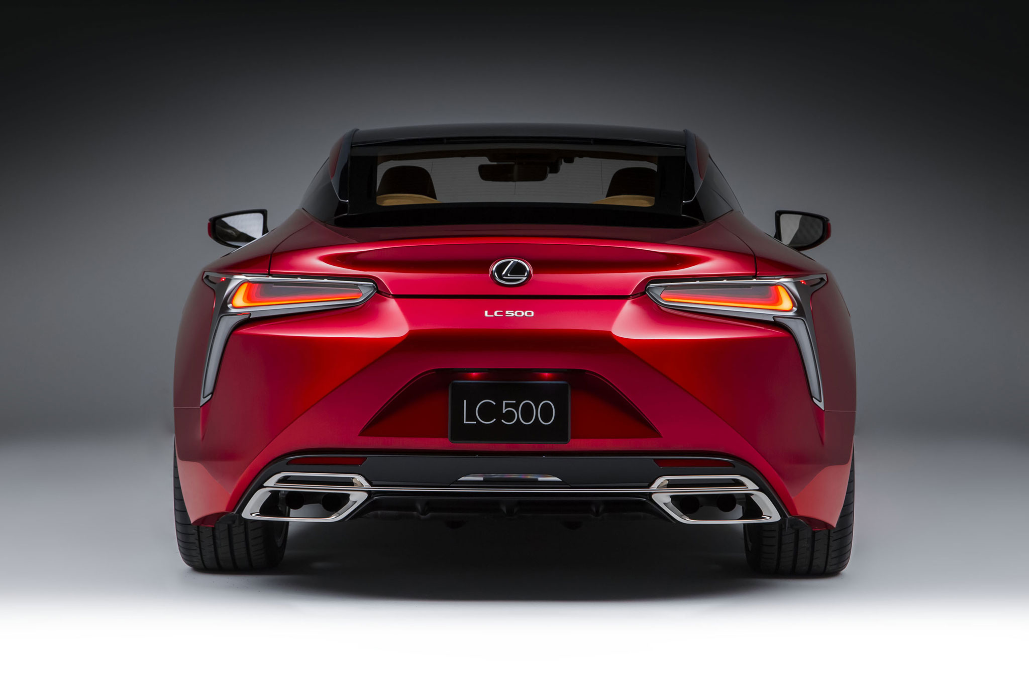 2018 Lexus LC 500 rear end