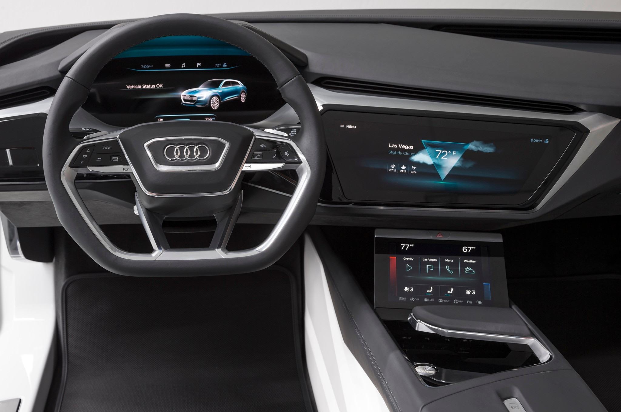 Audi Virtual Dashboard Concept 3